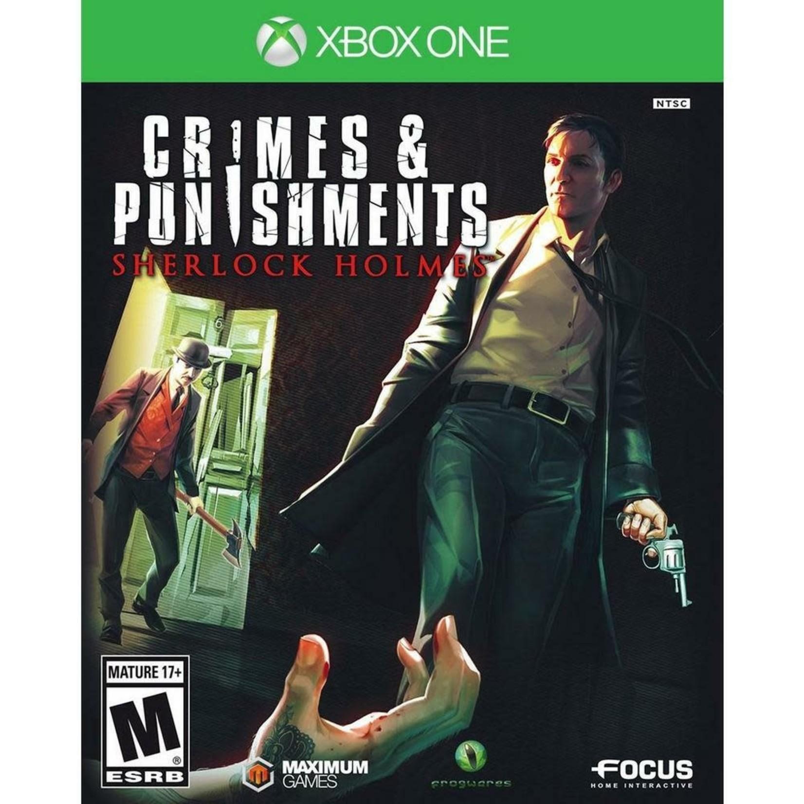 XB1U-Crimes and Punishments: Sherlock Holmes