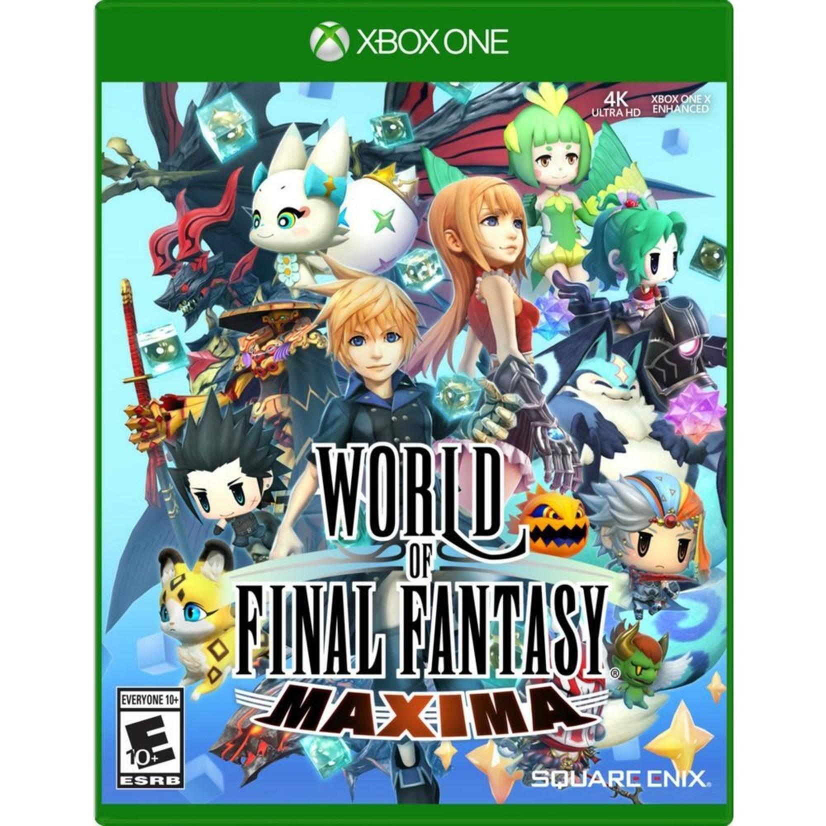 XB1U-World of Final Fantasy Maxima