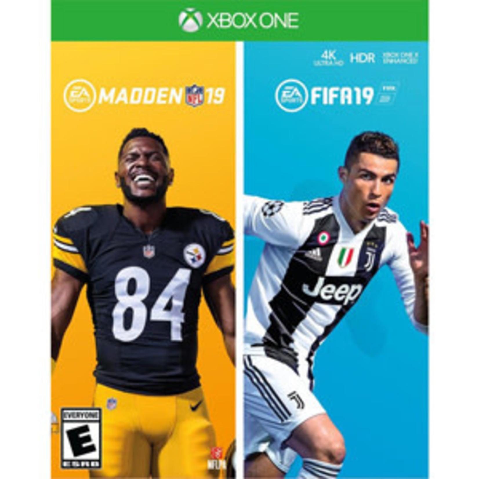 XB1-Madden NFL 19 and FIFA 19 Bundle