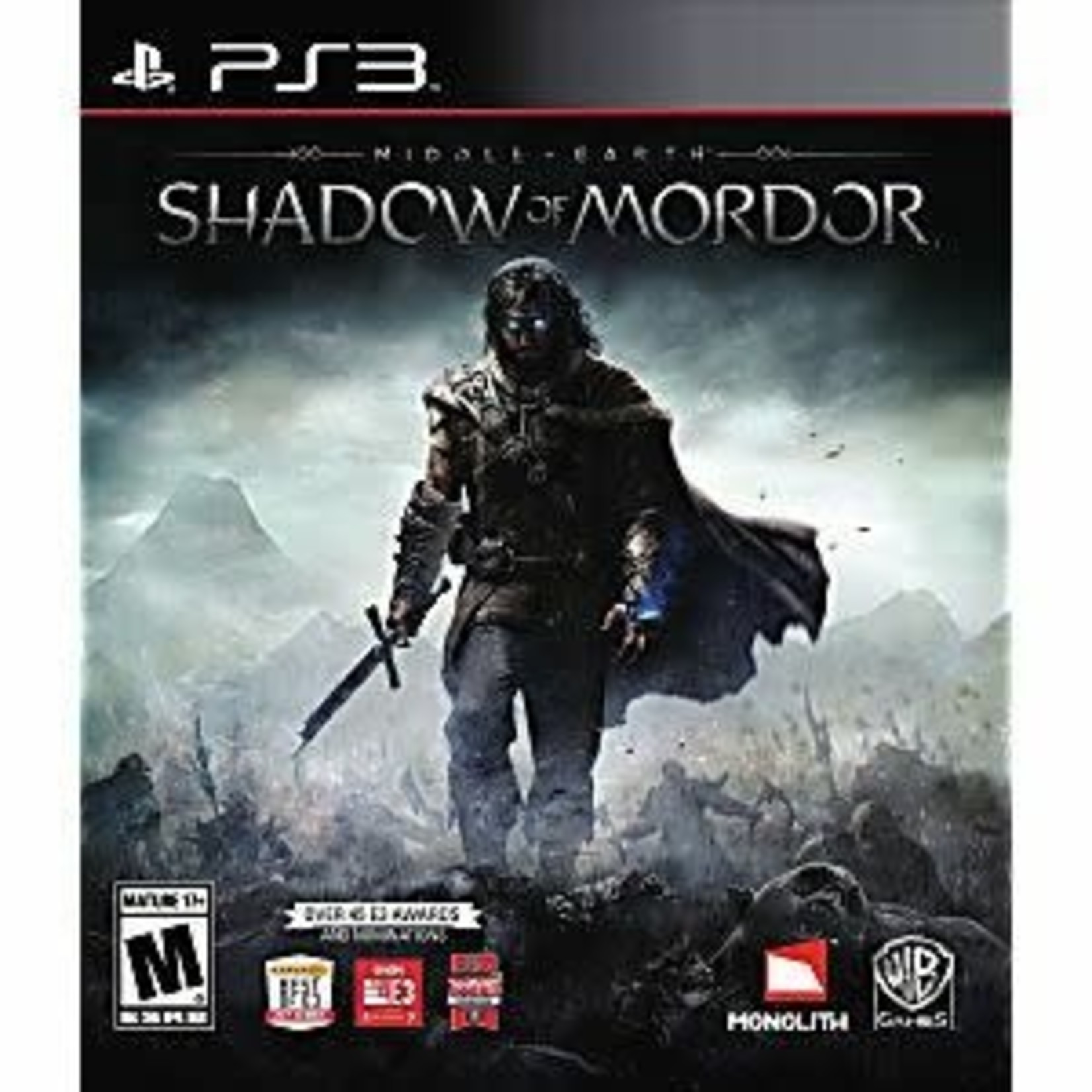PS3U-Middle-earth: Shadow of Mordor