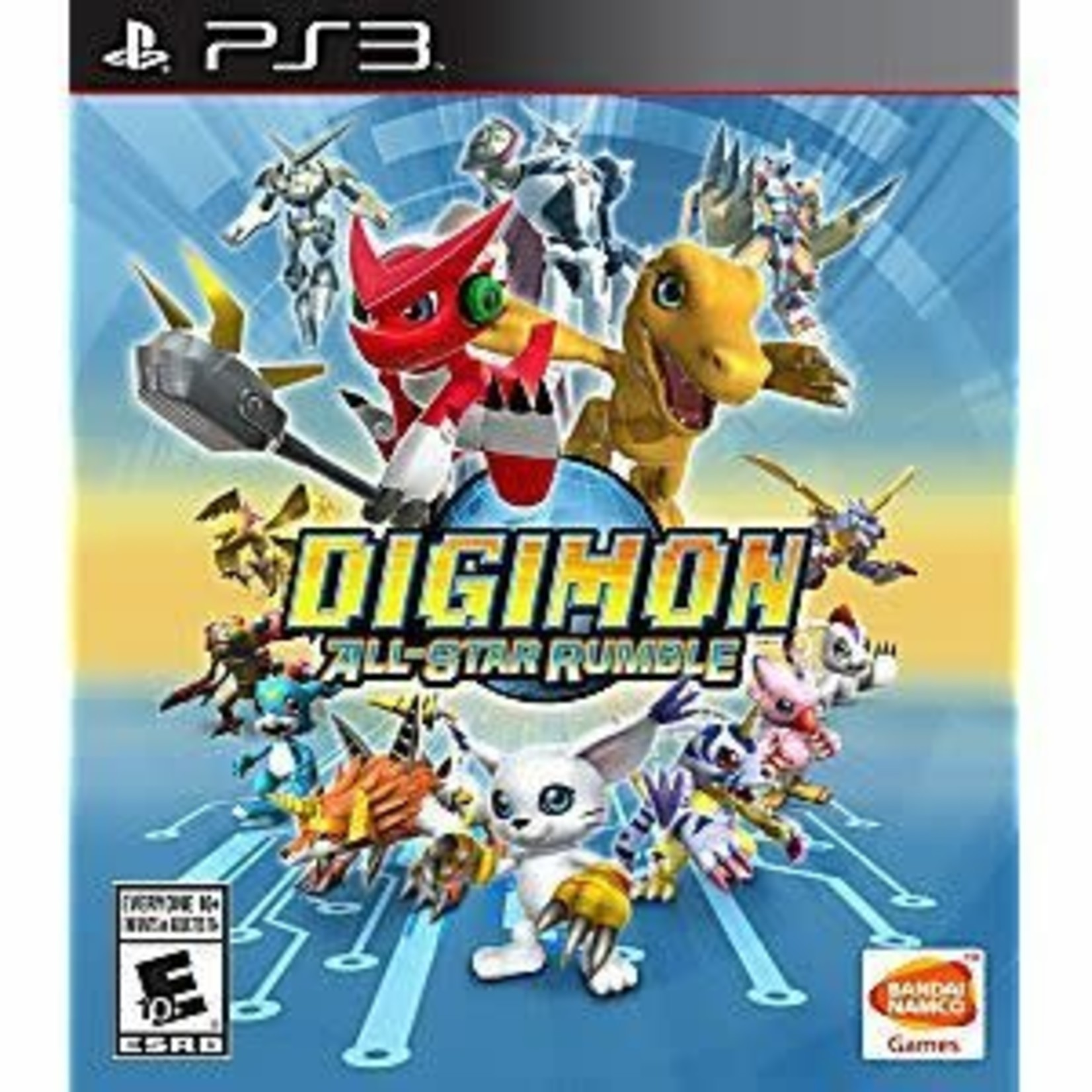PS3-Digimon All-Star Rumble