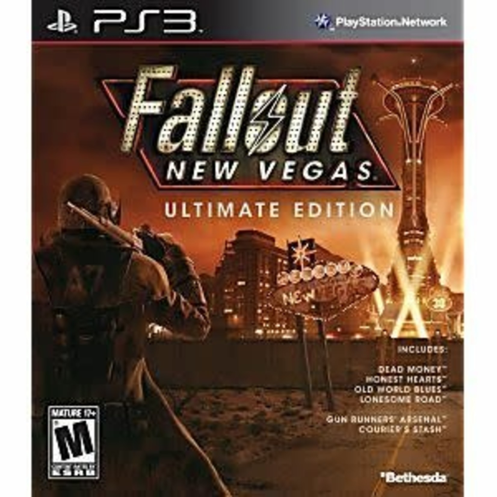 PS3-Fallout New Vegas: Ultimate Edition