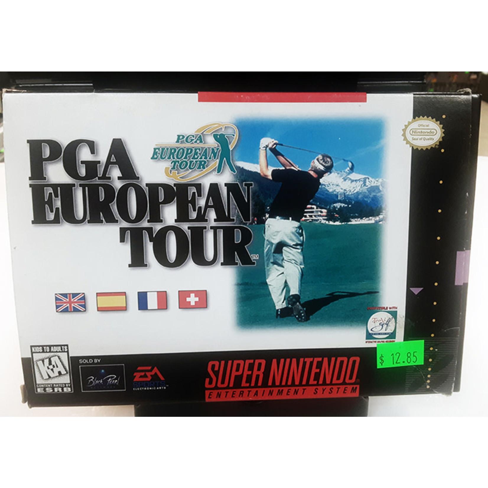 snesu-PGA European Tour (in box)