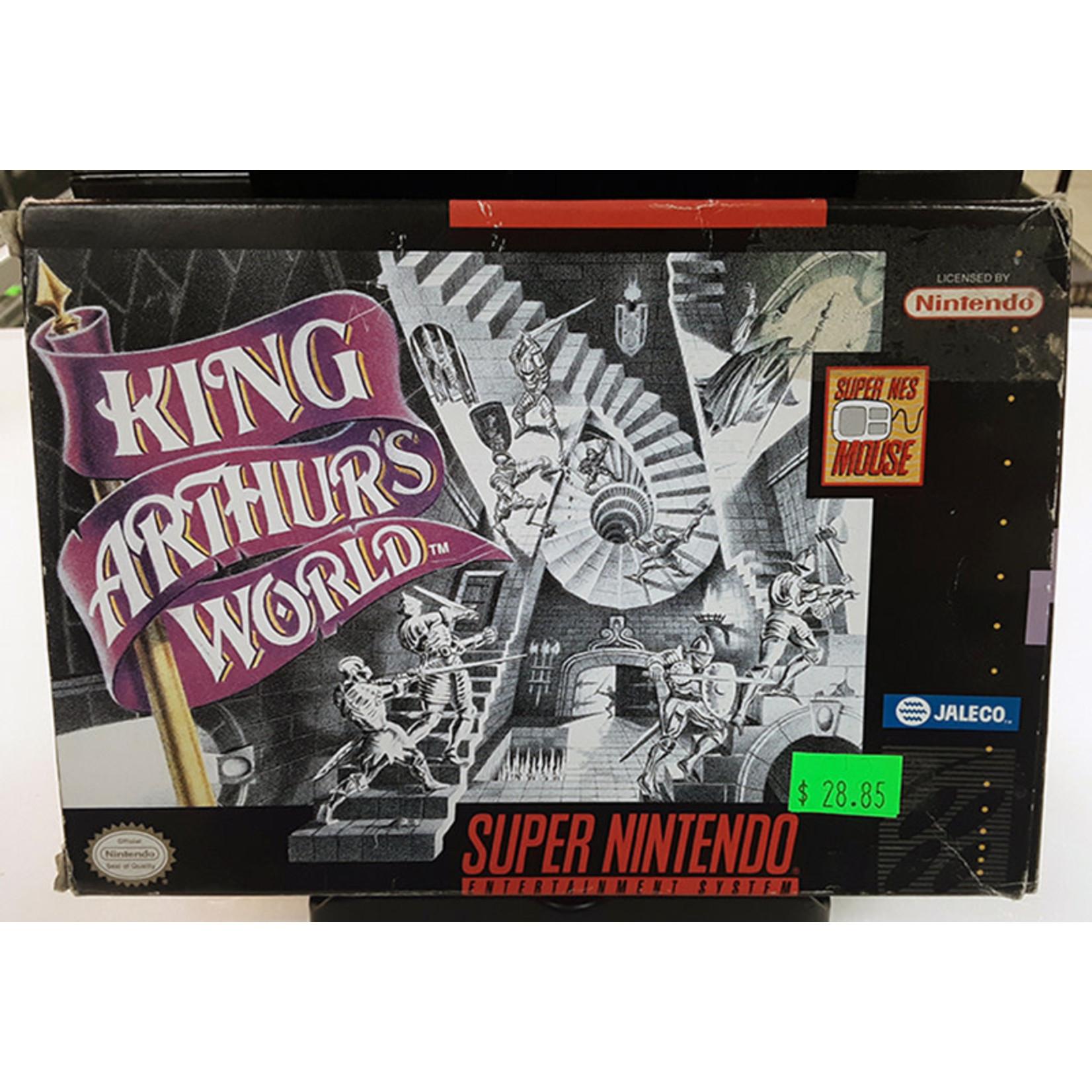SNESU-KING ARTHUR'S WORLD (in box)