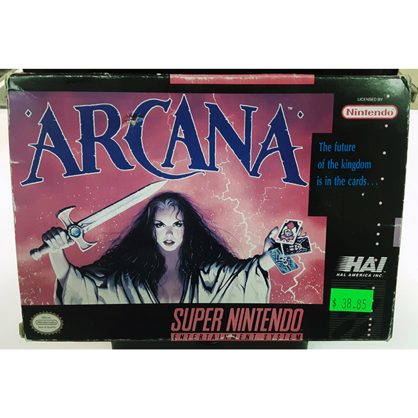 snesu-Arcana (in box)