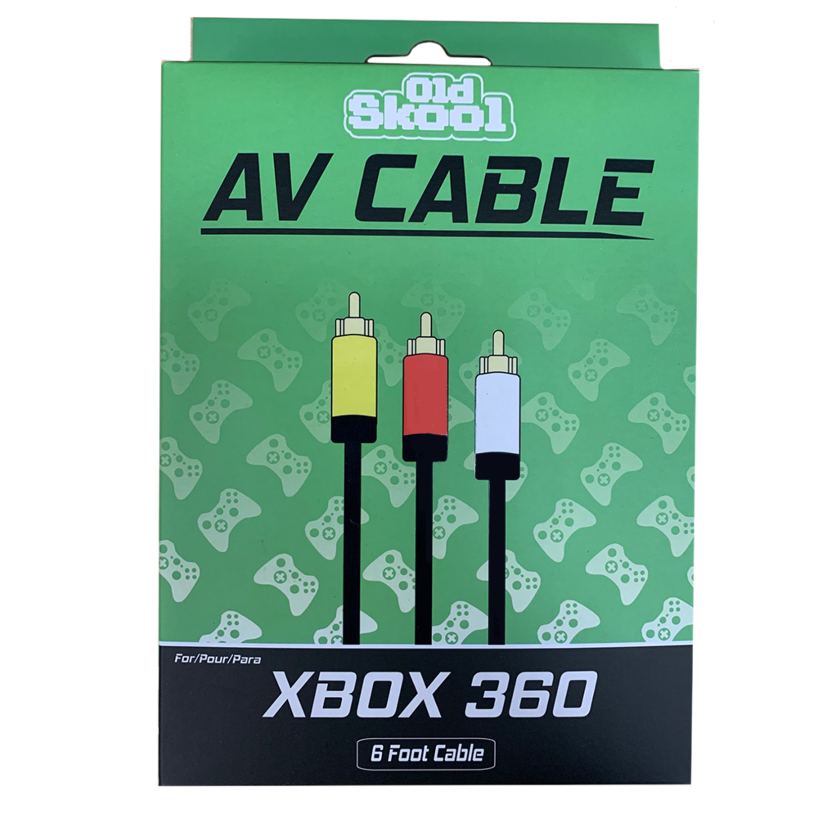 Old Skool AV Cable for Xbox 360
