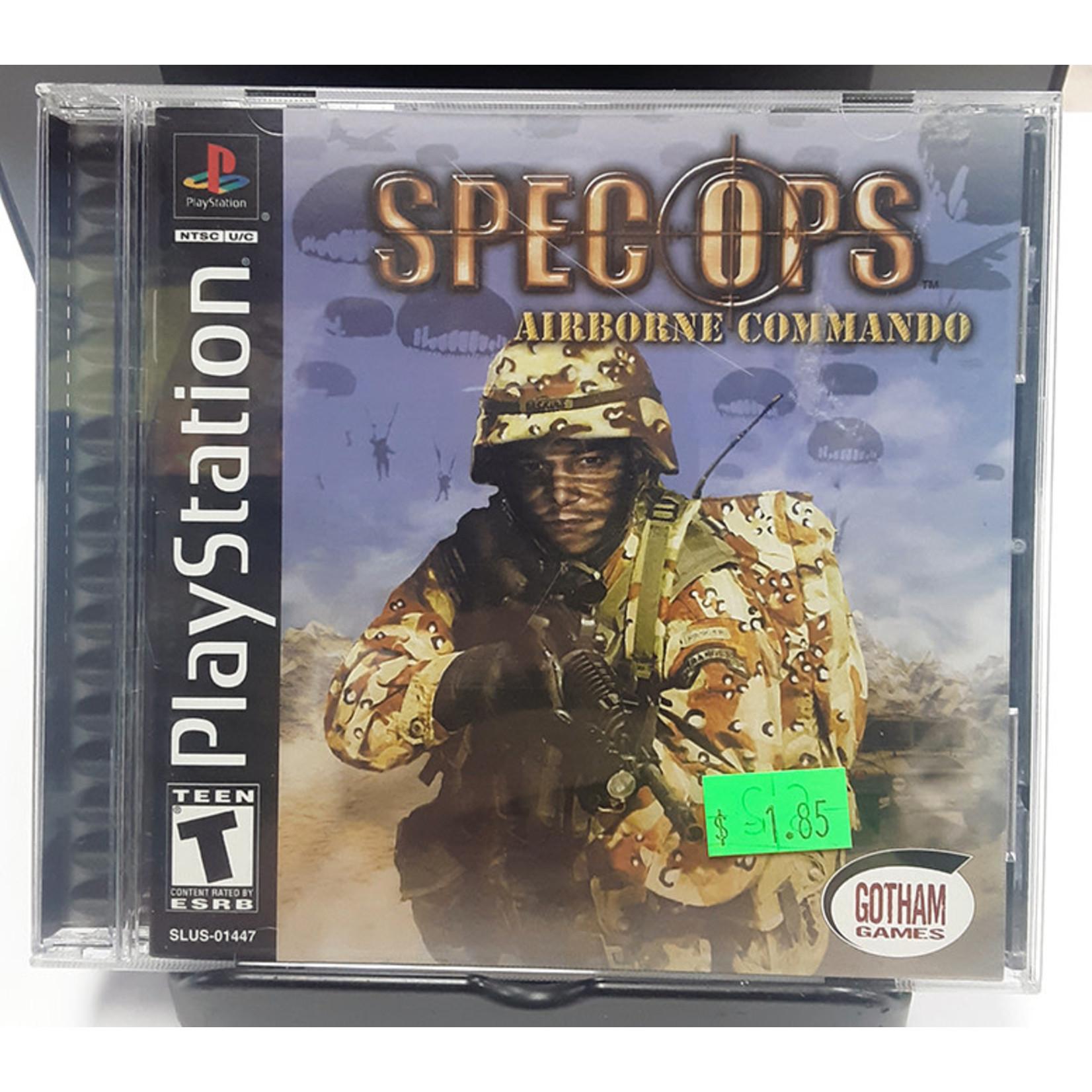 ps1u-spec ops: airborne commando