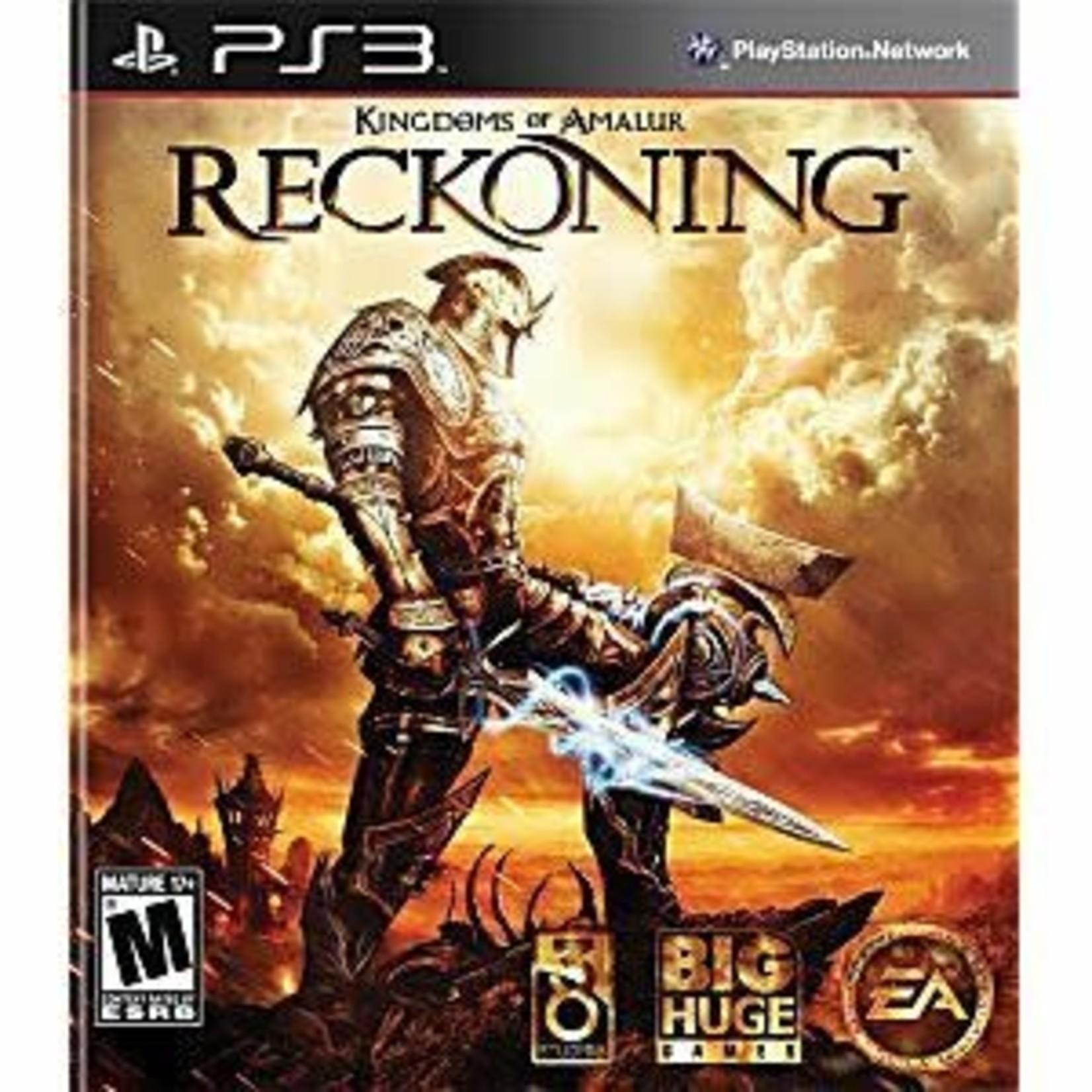 PS3-Kingdoms of Amalur: Reckoning