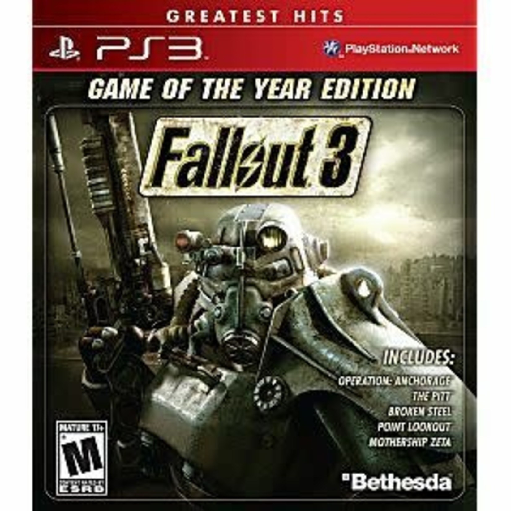 PS3-Fallout 3 Game of the Year Edition
