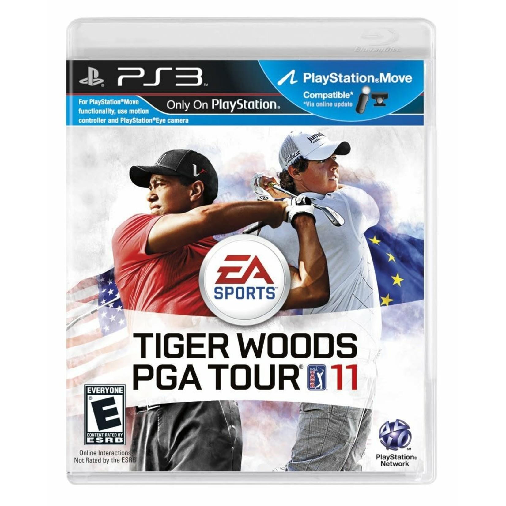 PS3-Tiger Woods PGA Tour 11