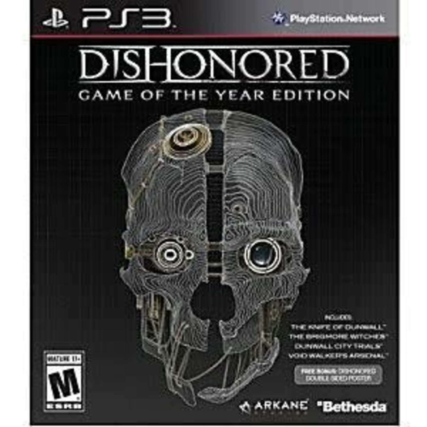 PS3U-Dishonored Game of the Year Edition