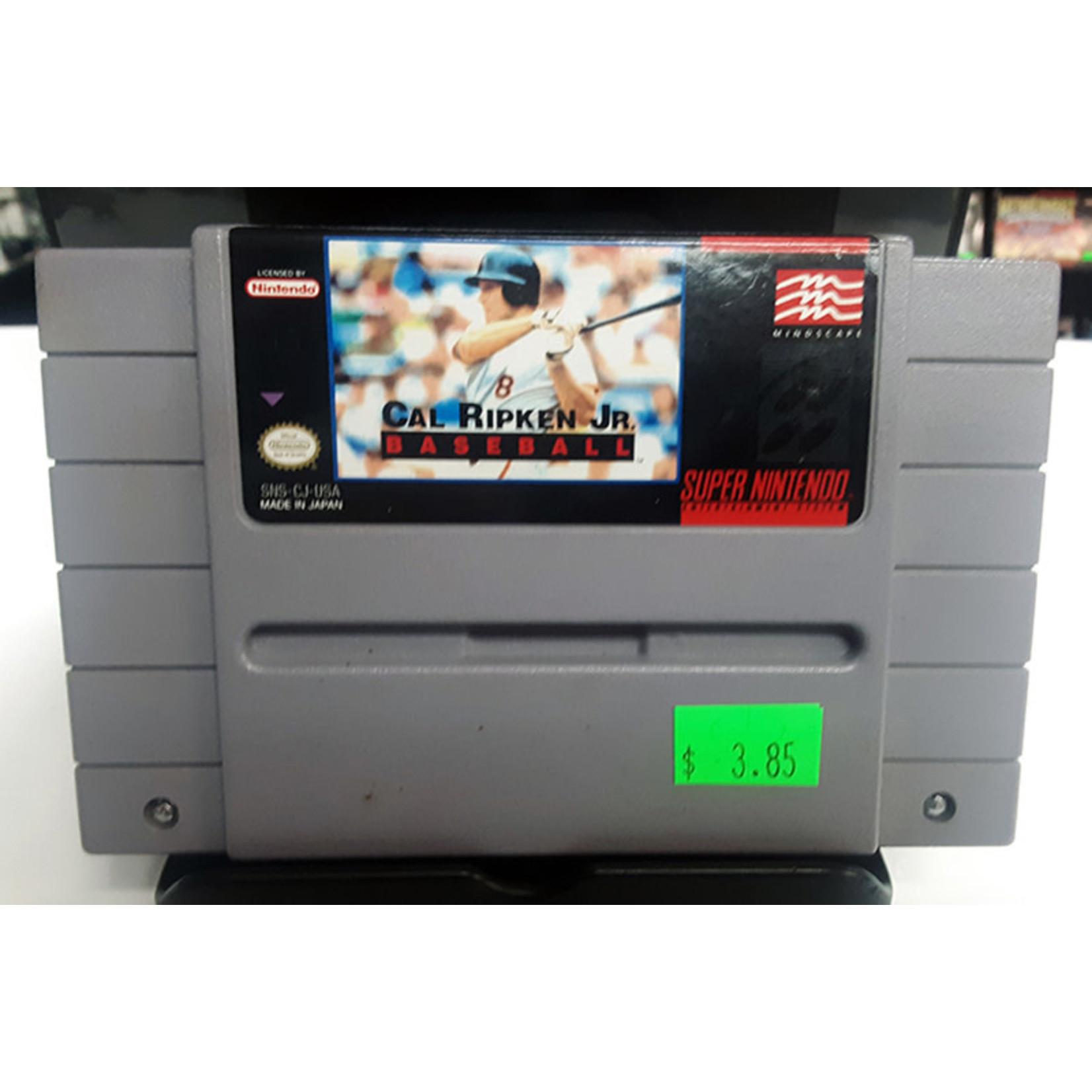 SNESu-Cal Ripkin Jr Baseball (cartridge)