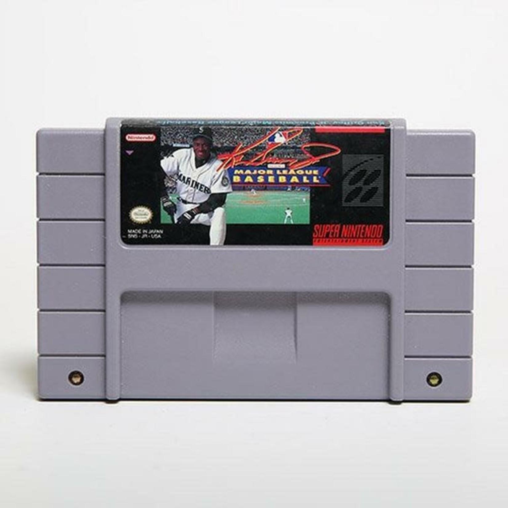 SNESU-Ken Griffey Jr Major League Baseball (Cartridge Only)