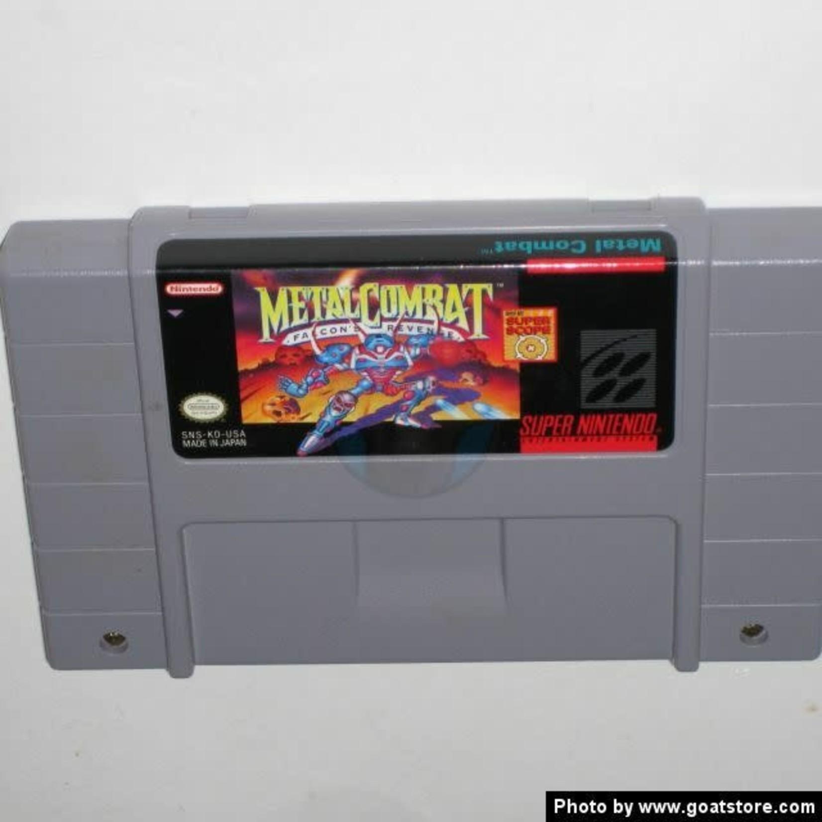 SNESU-Metal Combat (Cartridge)