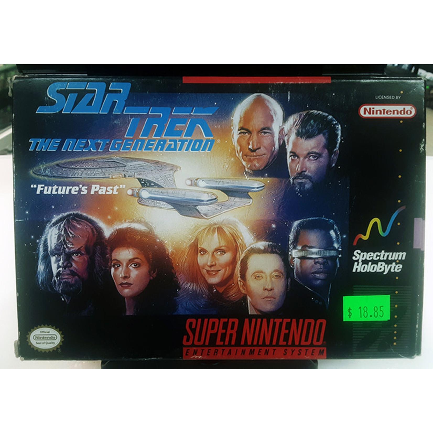 snesu-Star Trek The Next Generation (in box, incomplete)