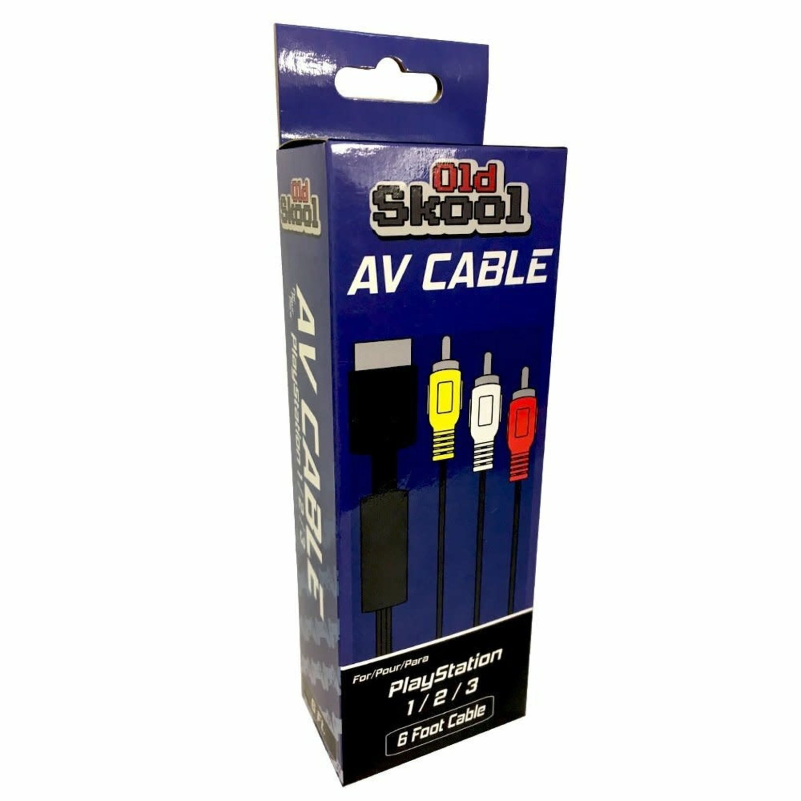 Old Skool Av Cable for PS1/PS2/PS3