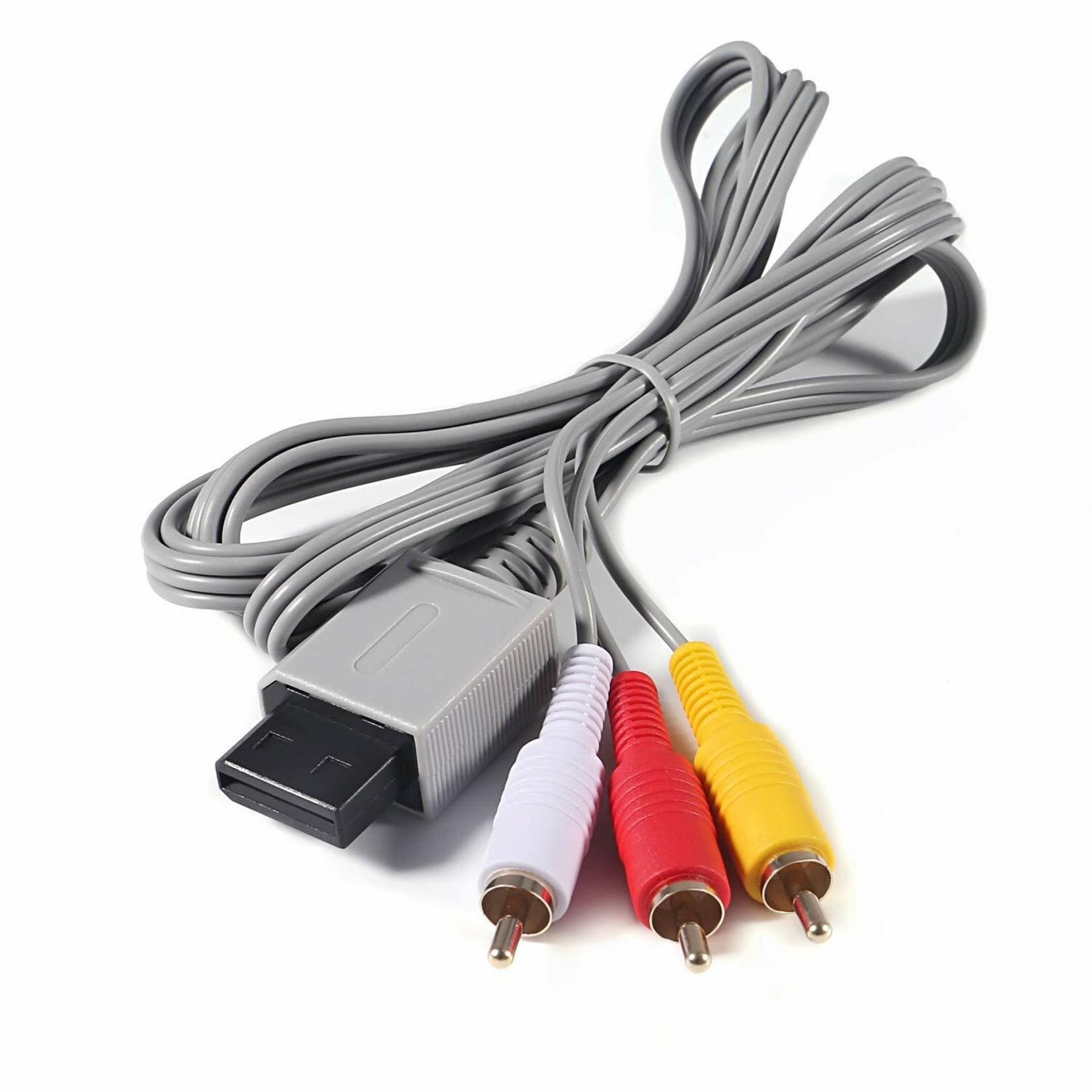 Old Skool Wii/WiiU Av Cable