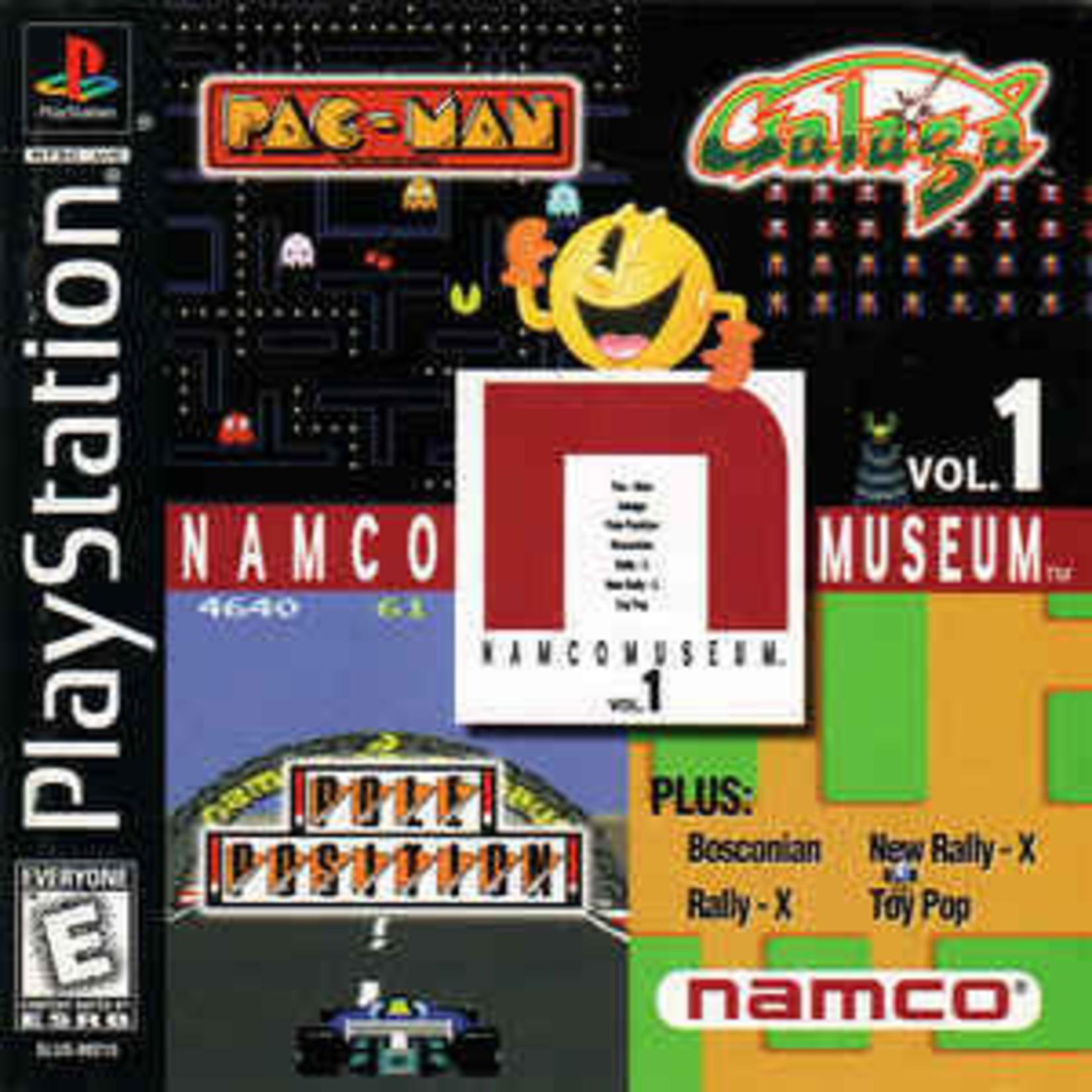 ps1u-Namco Museum Volume 1