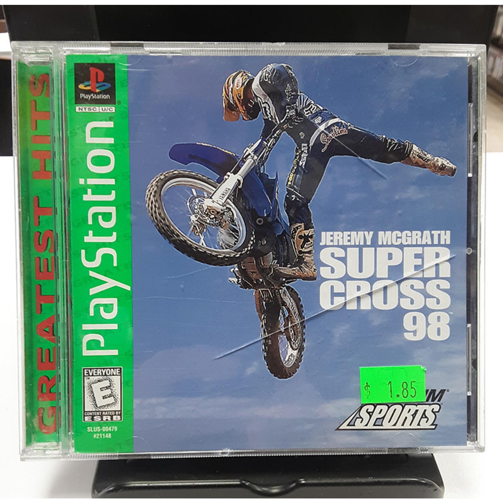 ps1u-Jeremy McGrath Supercross '98