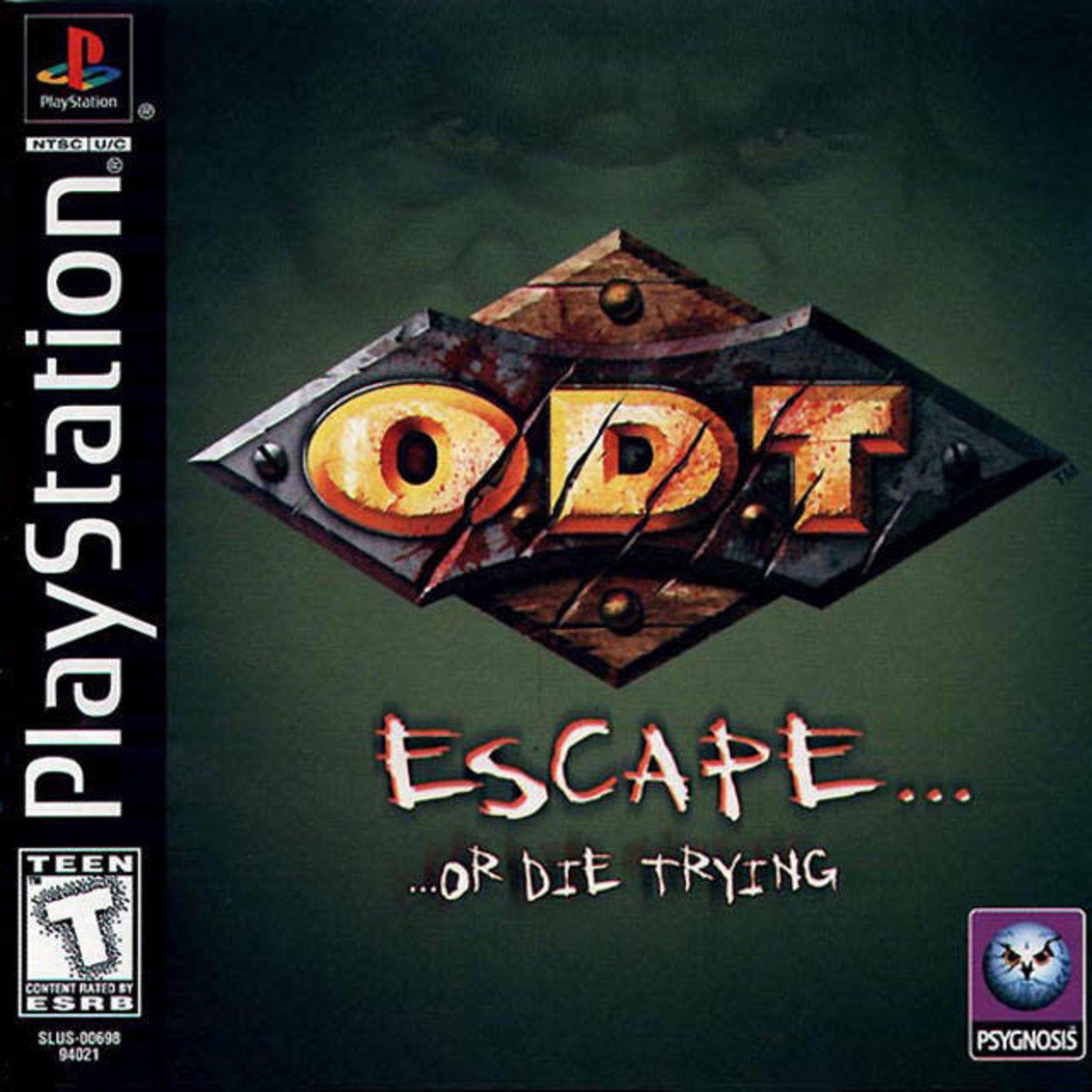 PS1U-O.D.T Escape or Die Trying