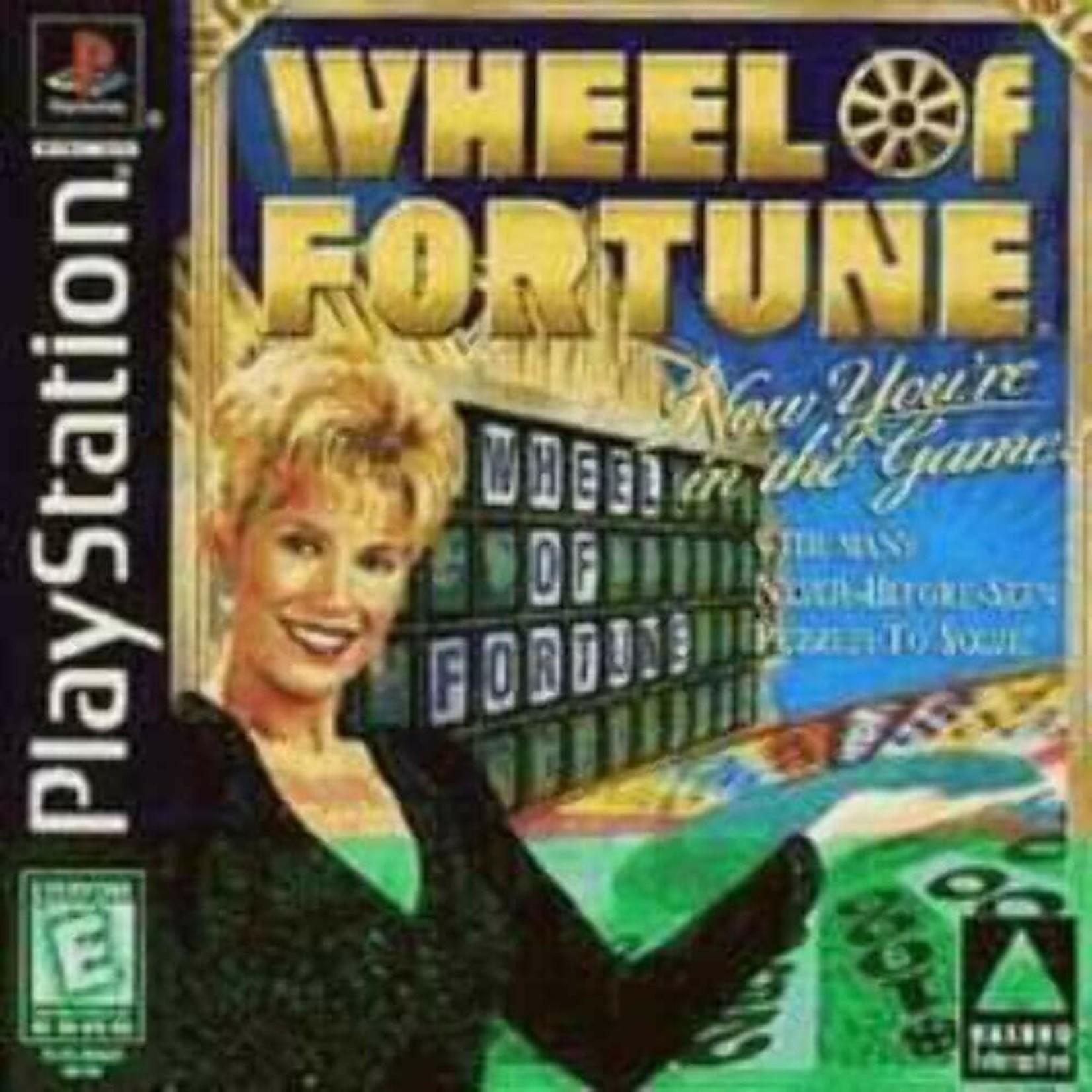 ps1u-Wheel Of Fortune