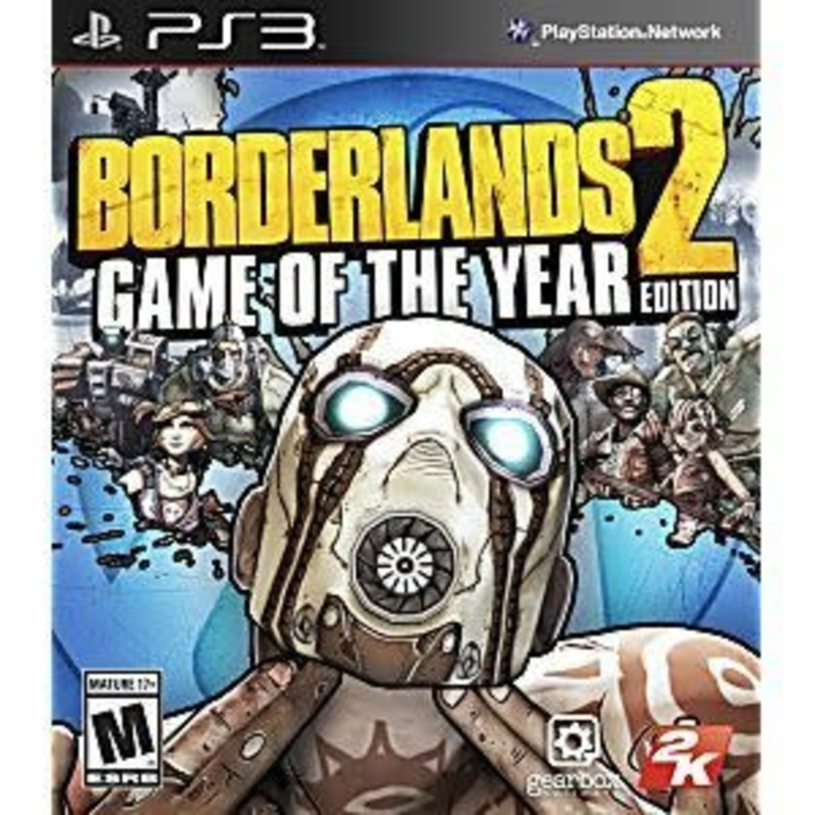 PS3-Borderlands 2 Game of the Year edition