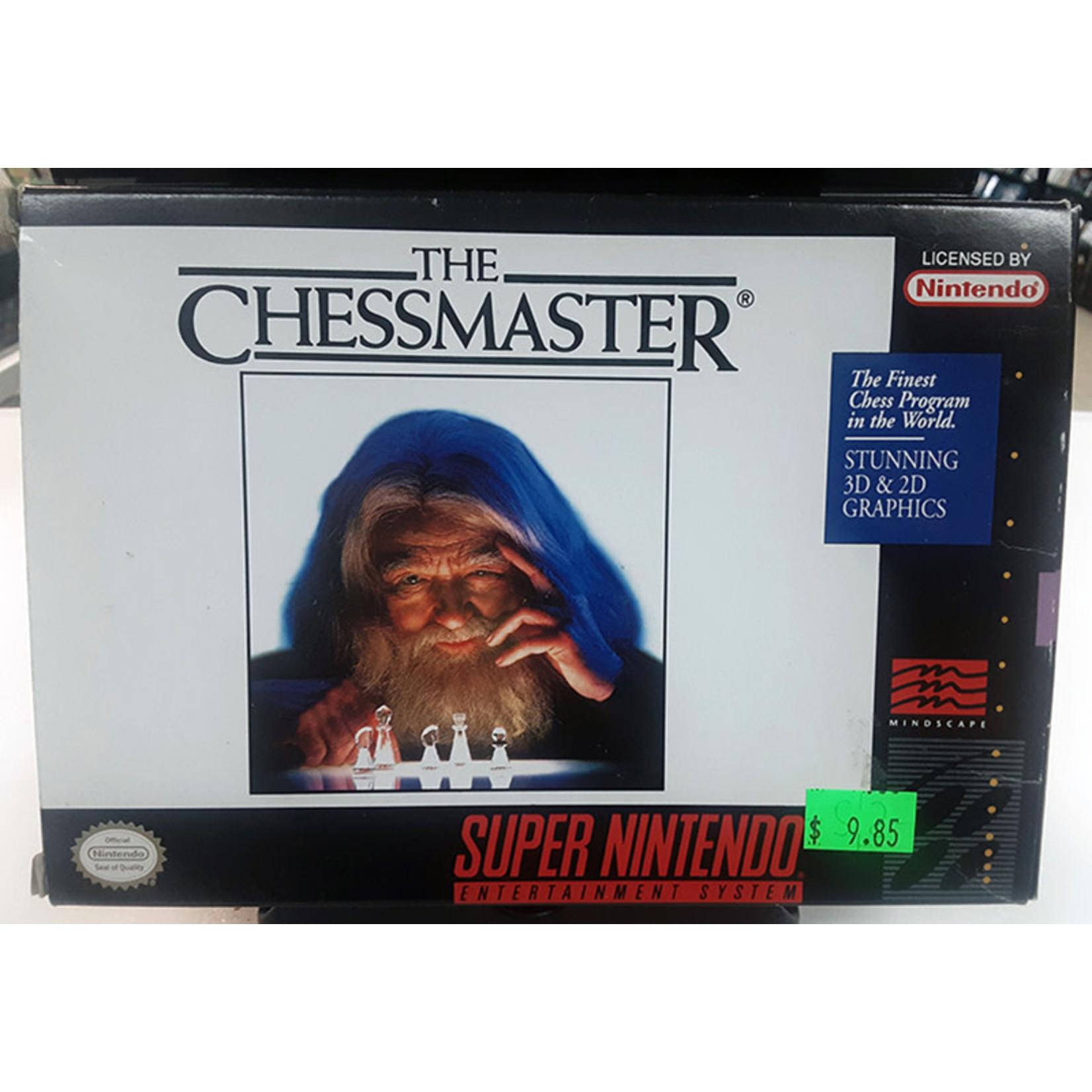 snesu-The Chessmaster (In Box)