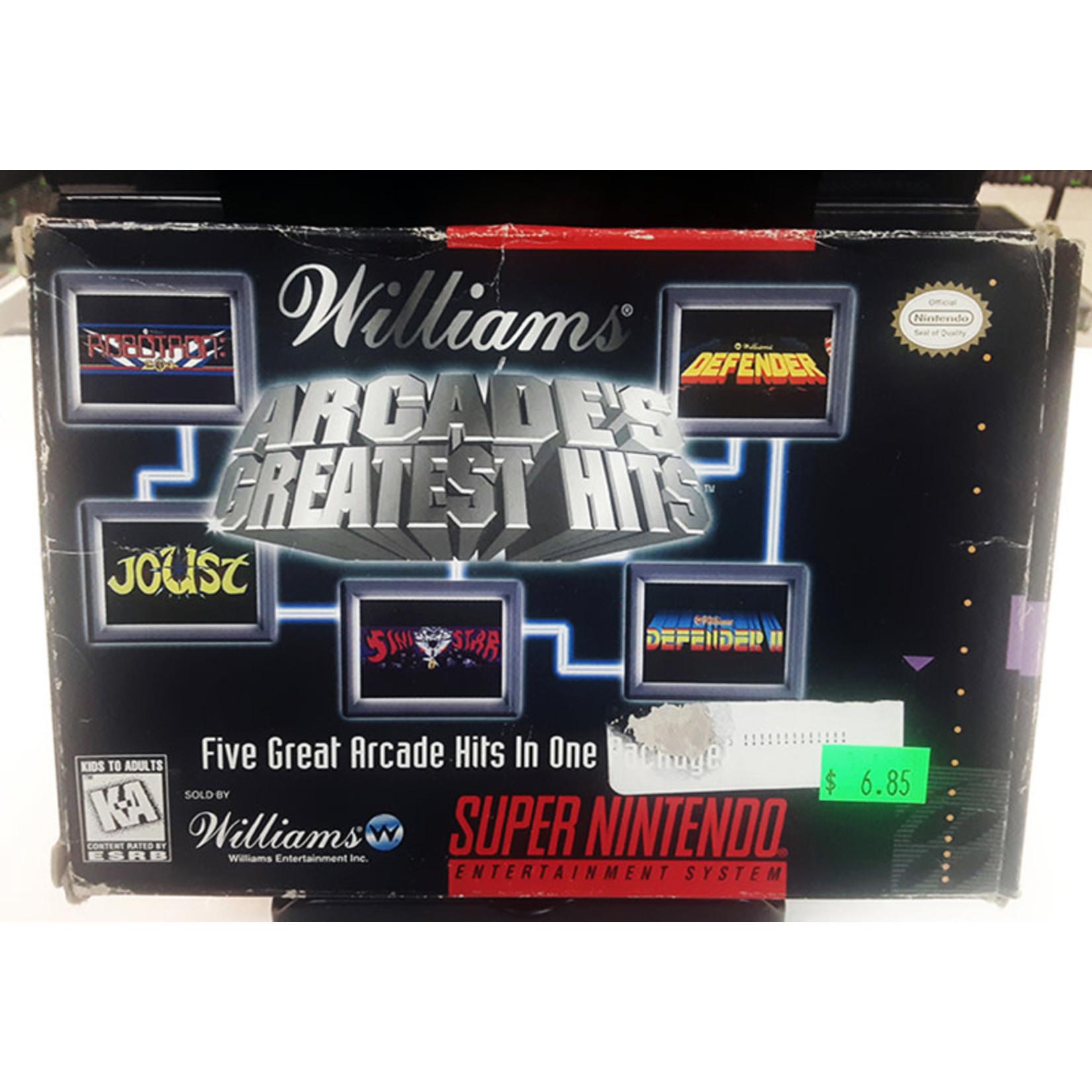 snesu-Williams Arcade's Greatest Hits (in box)