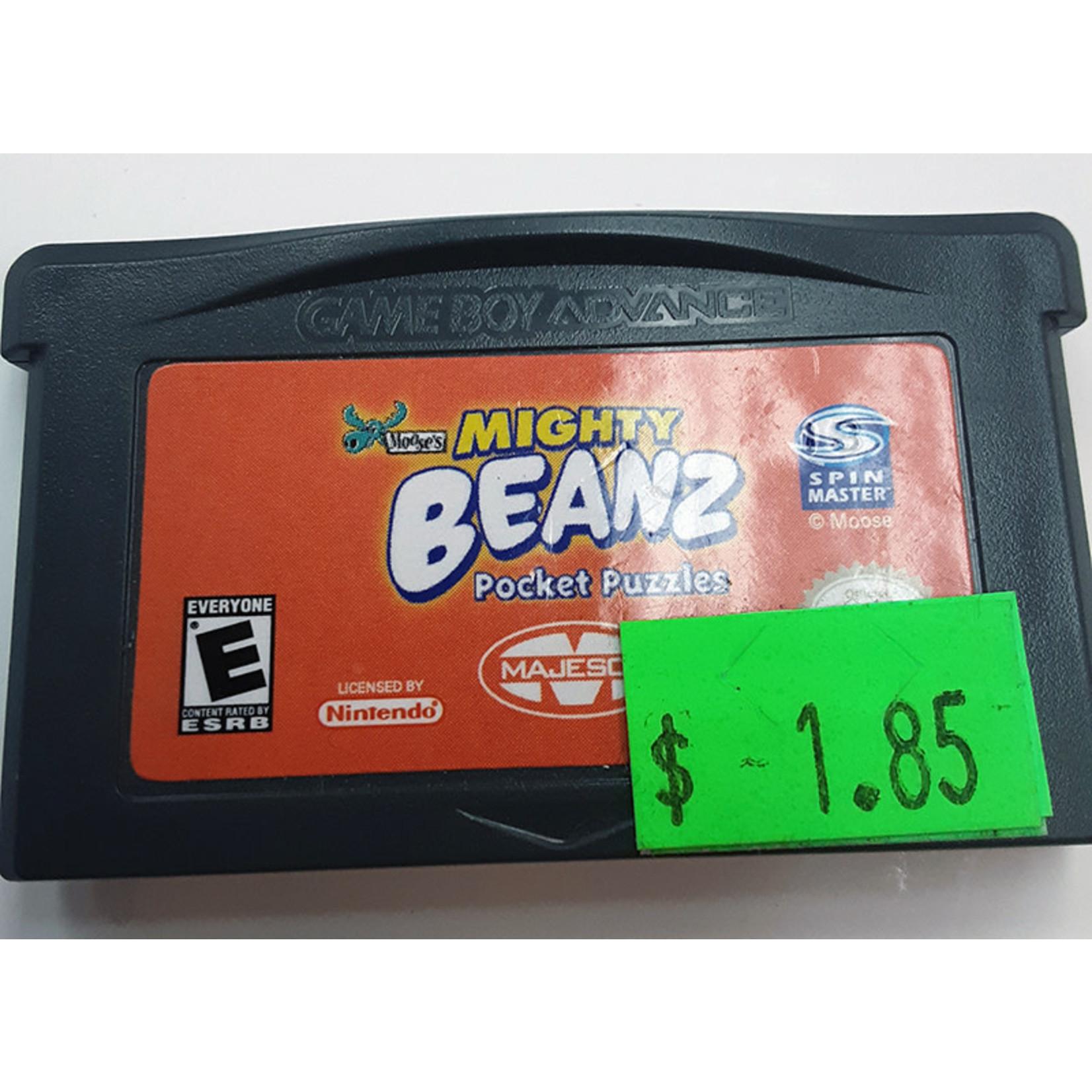 GBAu-Mighty Beanz Pocket Puzzles (cartridge)