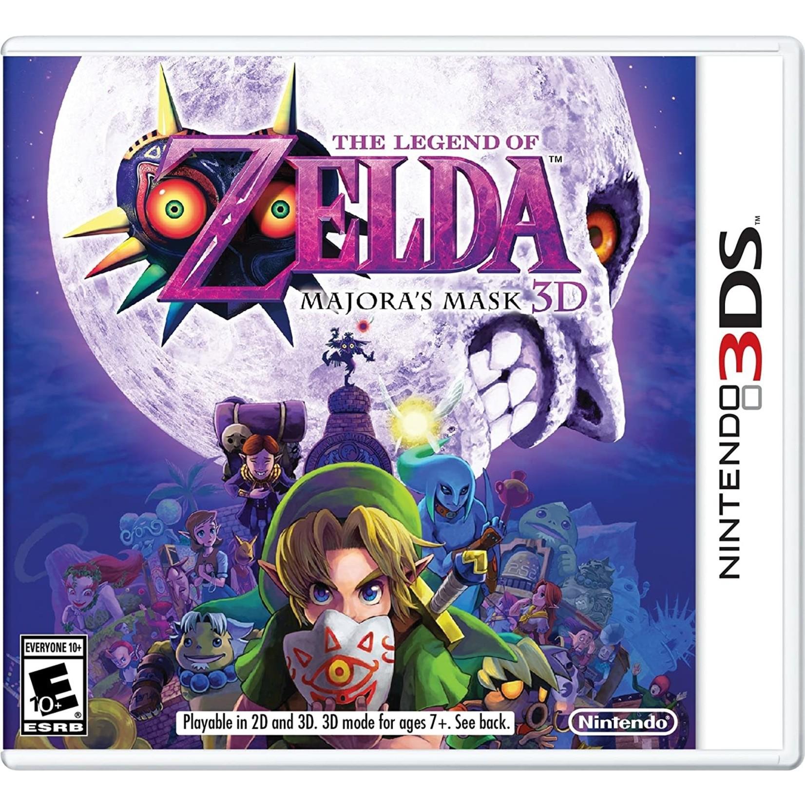 3DS-The Legend of Zelda: Majora's Mask