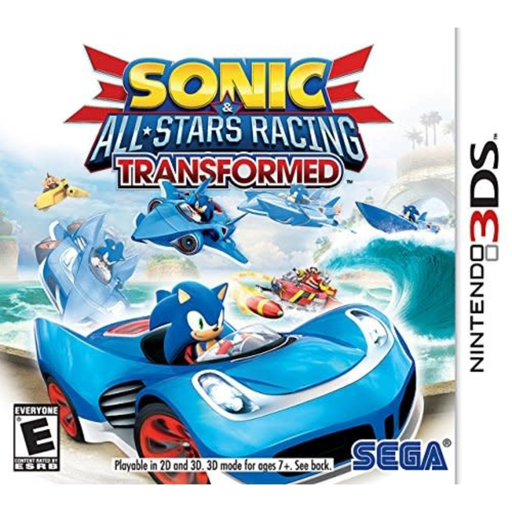 3DS-Sonic All Star Racing Transformed