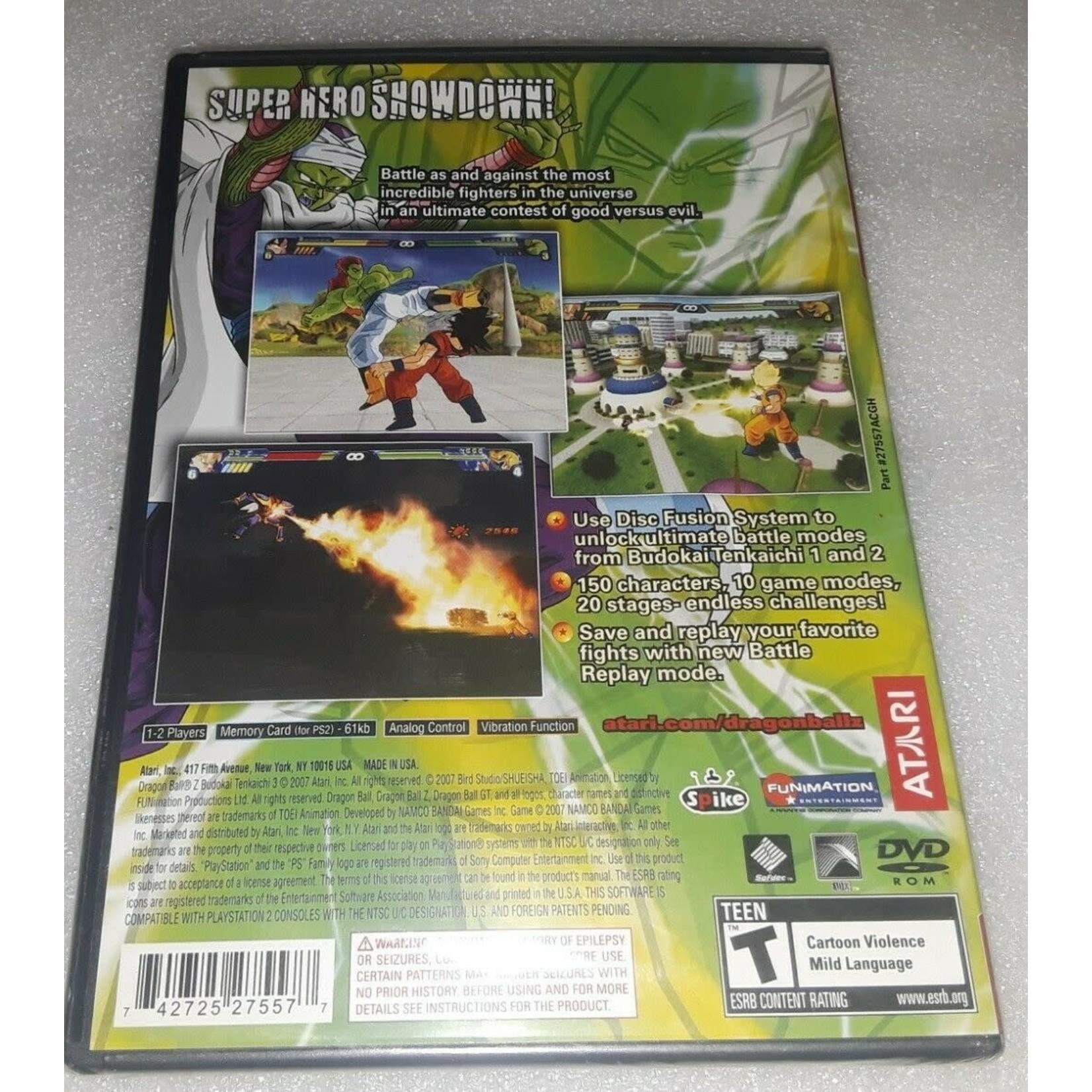 PS2U-Dragon Ball Z Budokai Tenkaichi 3 (COMPLETE BLACK LABLE)