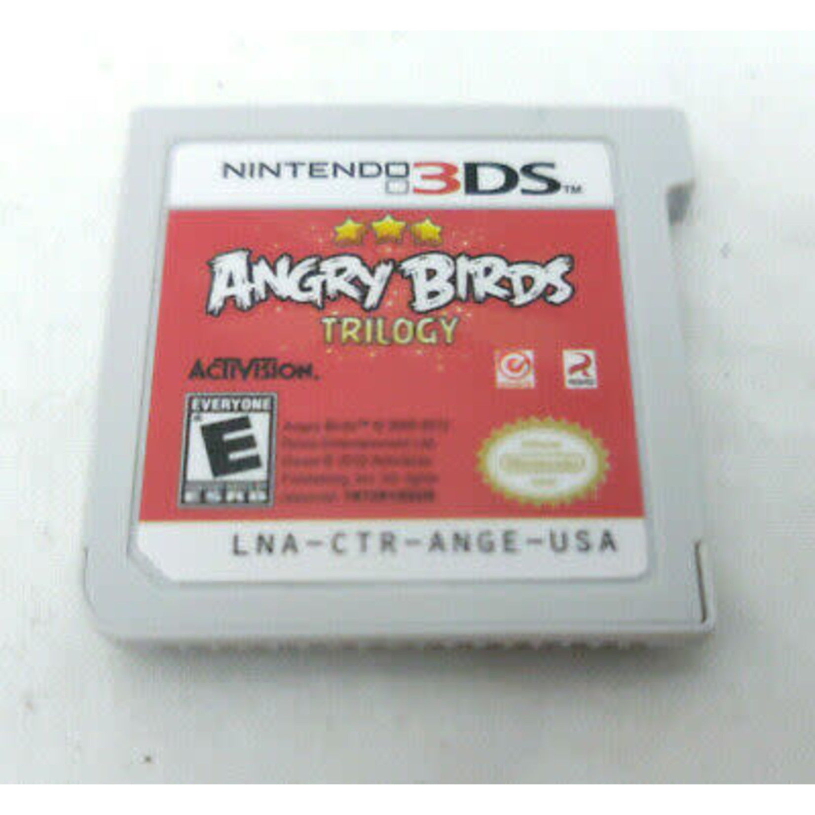 3DSU-Angry Birds Trilogy (Chip Only)
