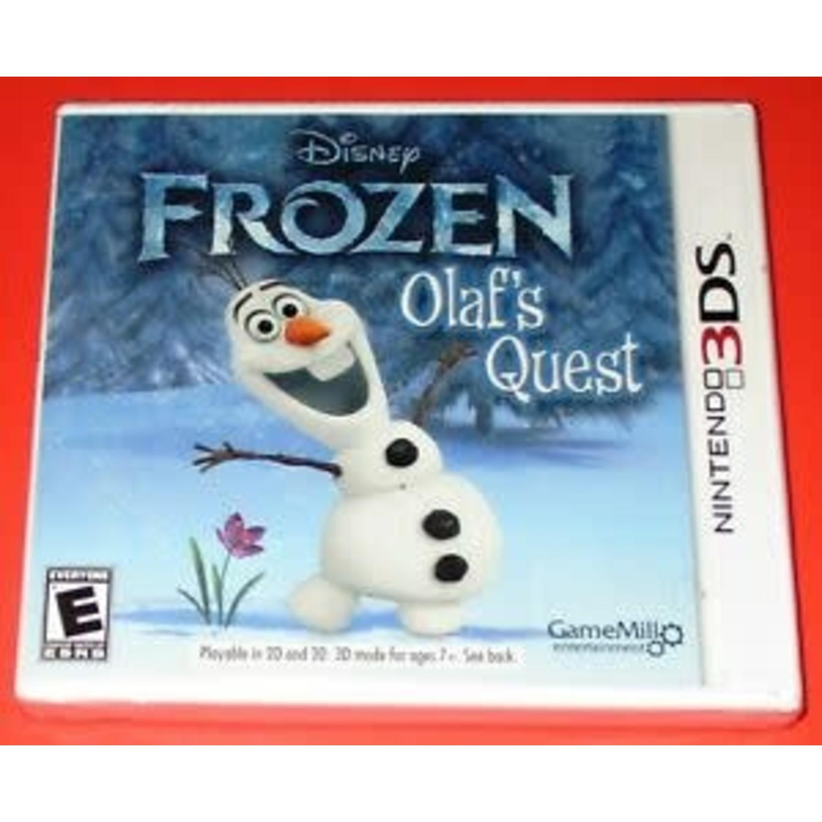 3dsu-Frozen Olaf's Quest