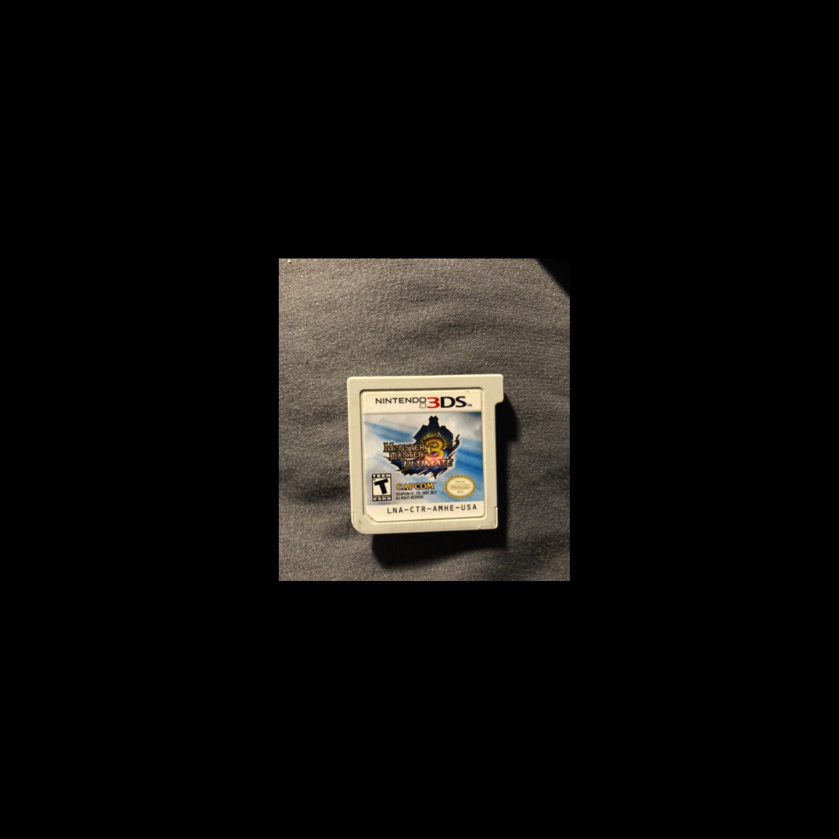 3DSU-Monster Hunter 3 Ultimate (Chip Only)
