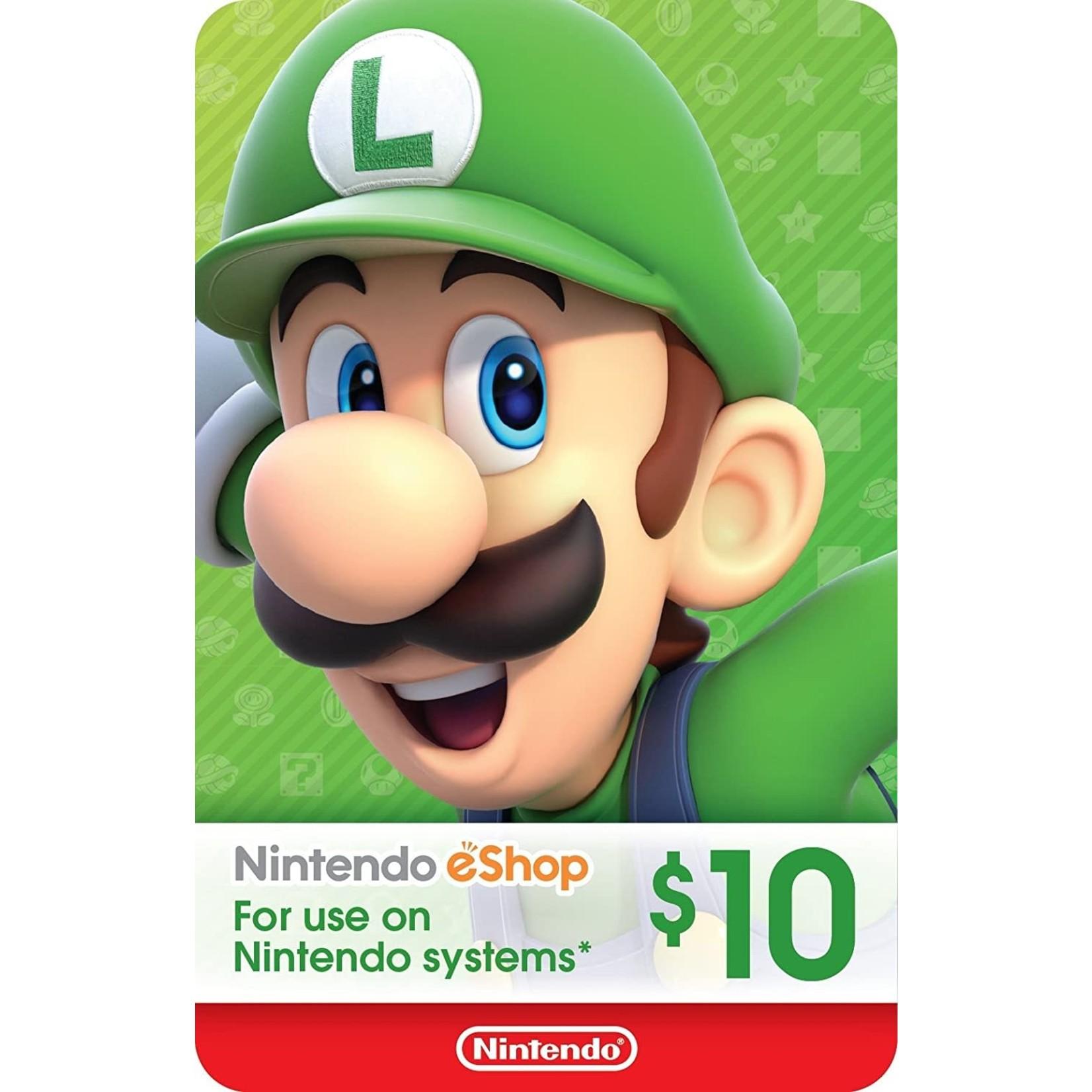 POINTS CARD-Nintendo $10