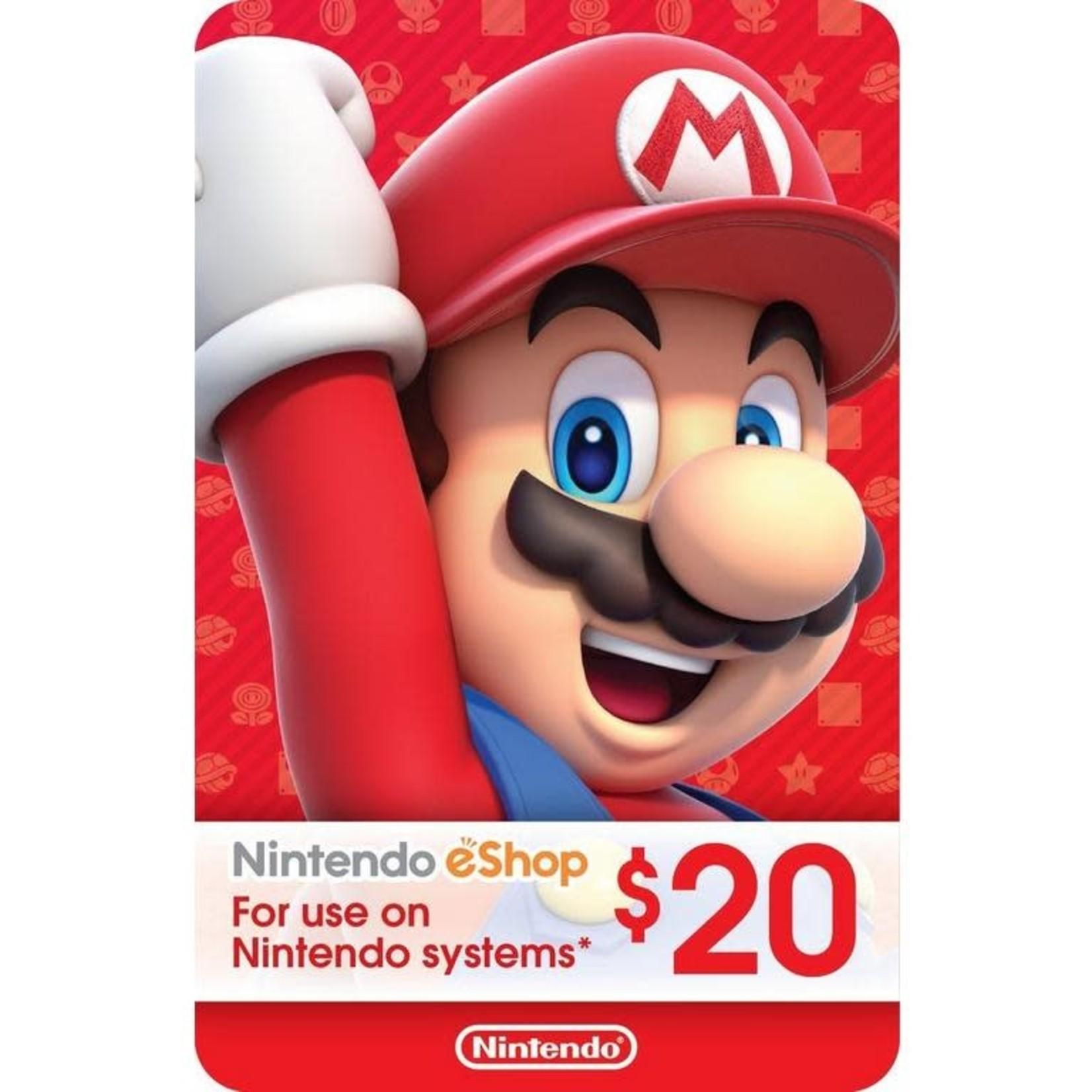 POINTS CARD-Nintendo $20