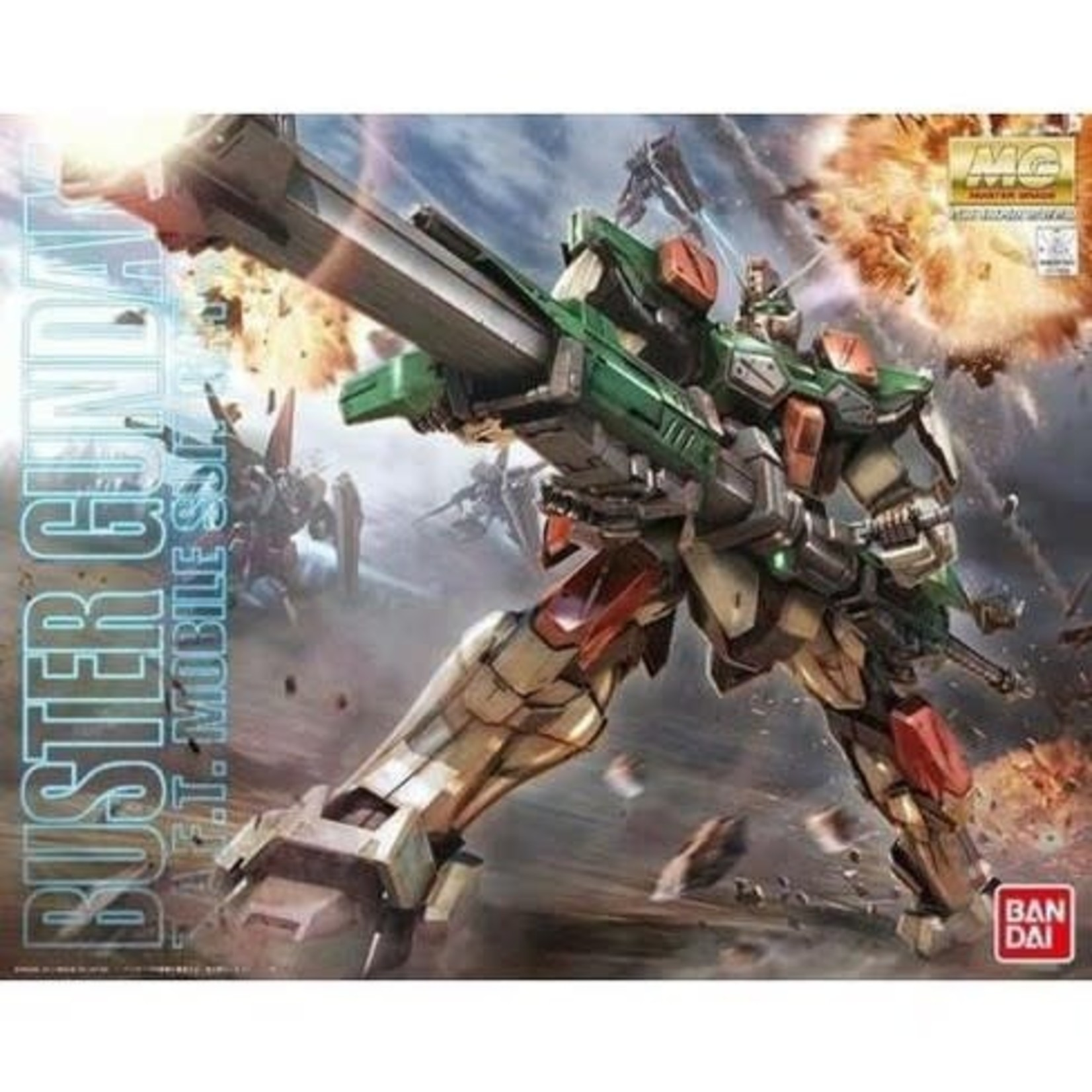 "GUNDAM-Buster Gundam ""Gundam SEED"""