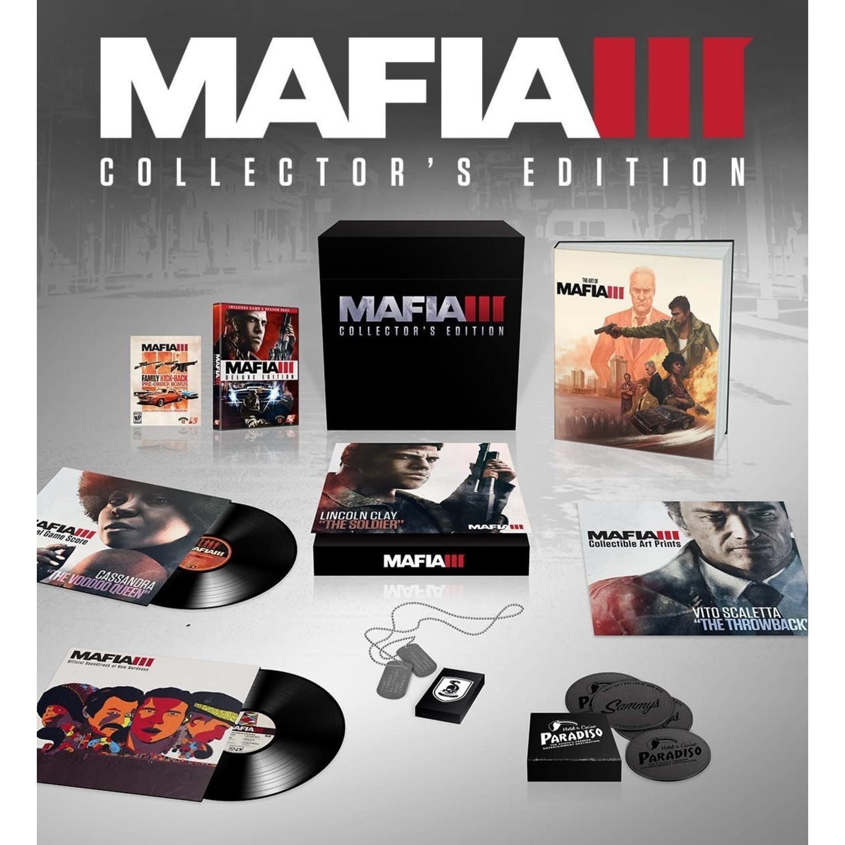 PS4-Mafia 3 Collector's Edition