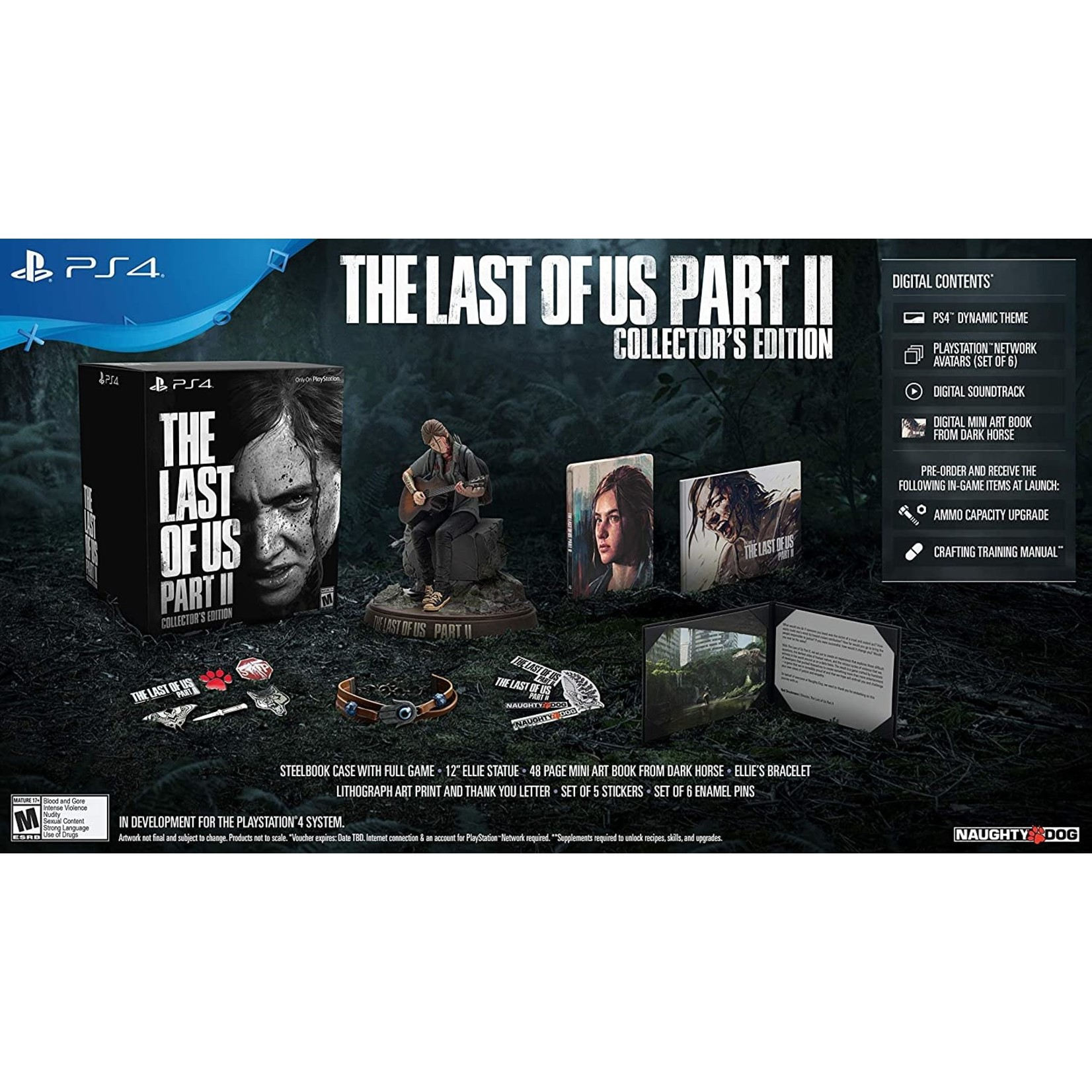 PS4-The Last of Us Part II Collector's Edition