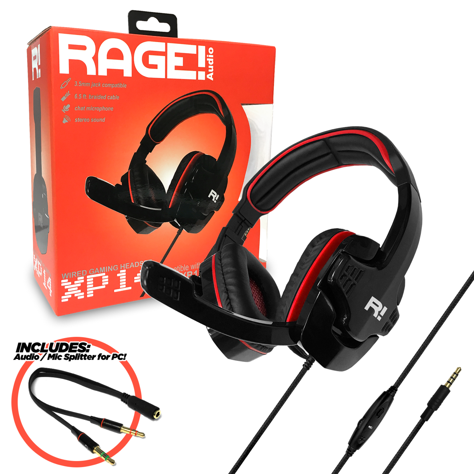 RAGE! XP14 Stereo Gaming Headset
