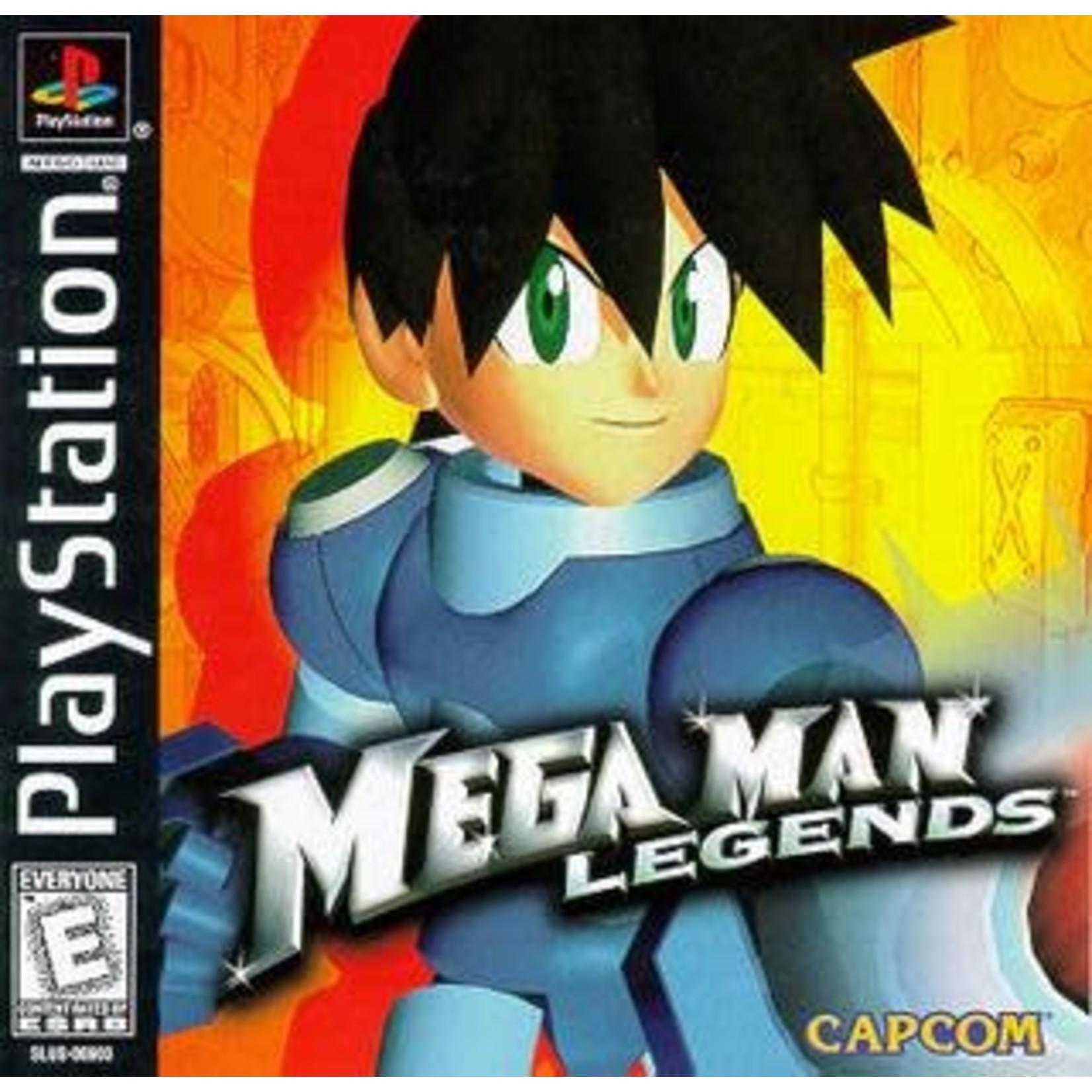 PS1U-Mega Man Legends (Disc Only)