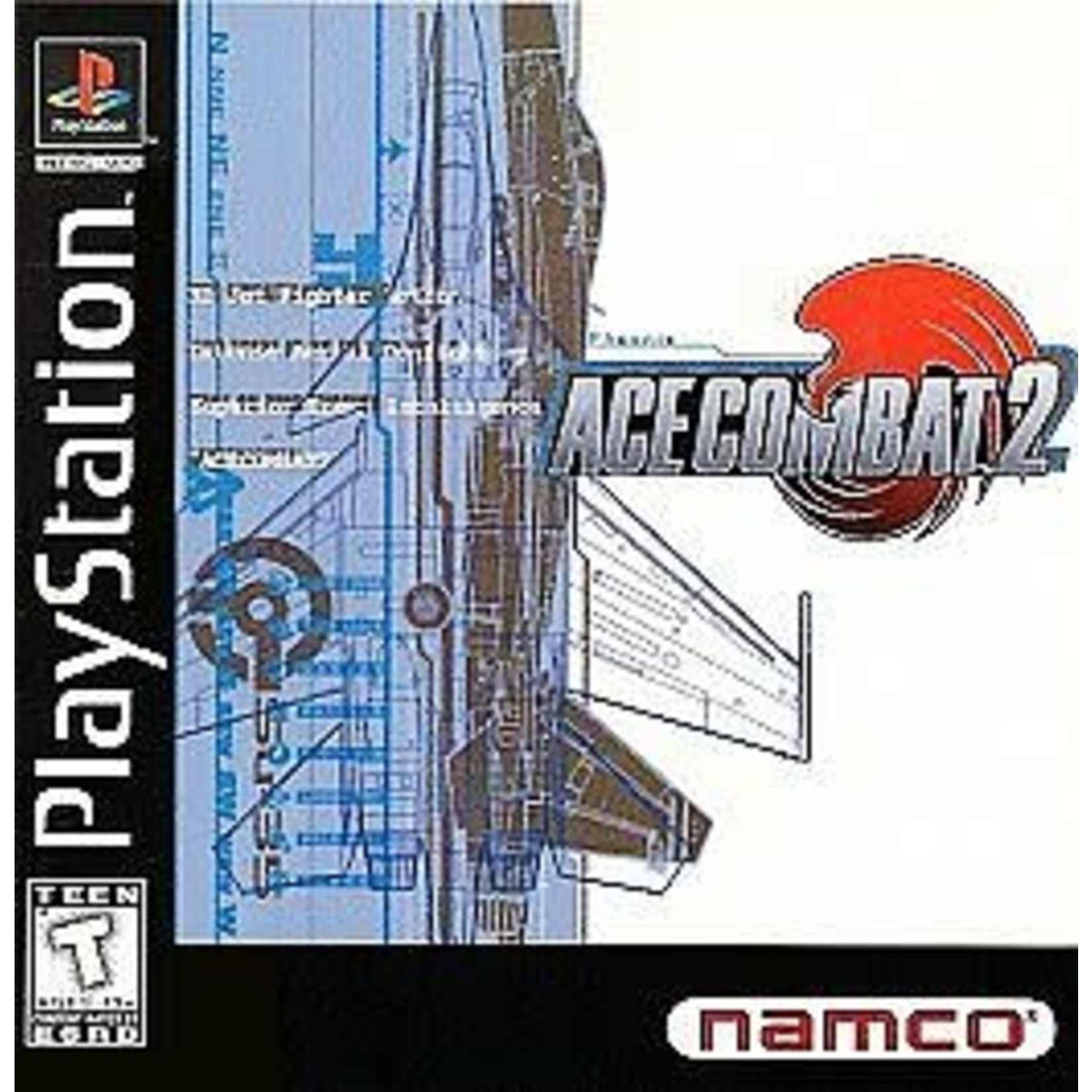 PS1U-Ace Combat 2 (Disc Only)
