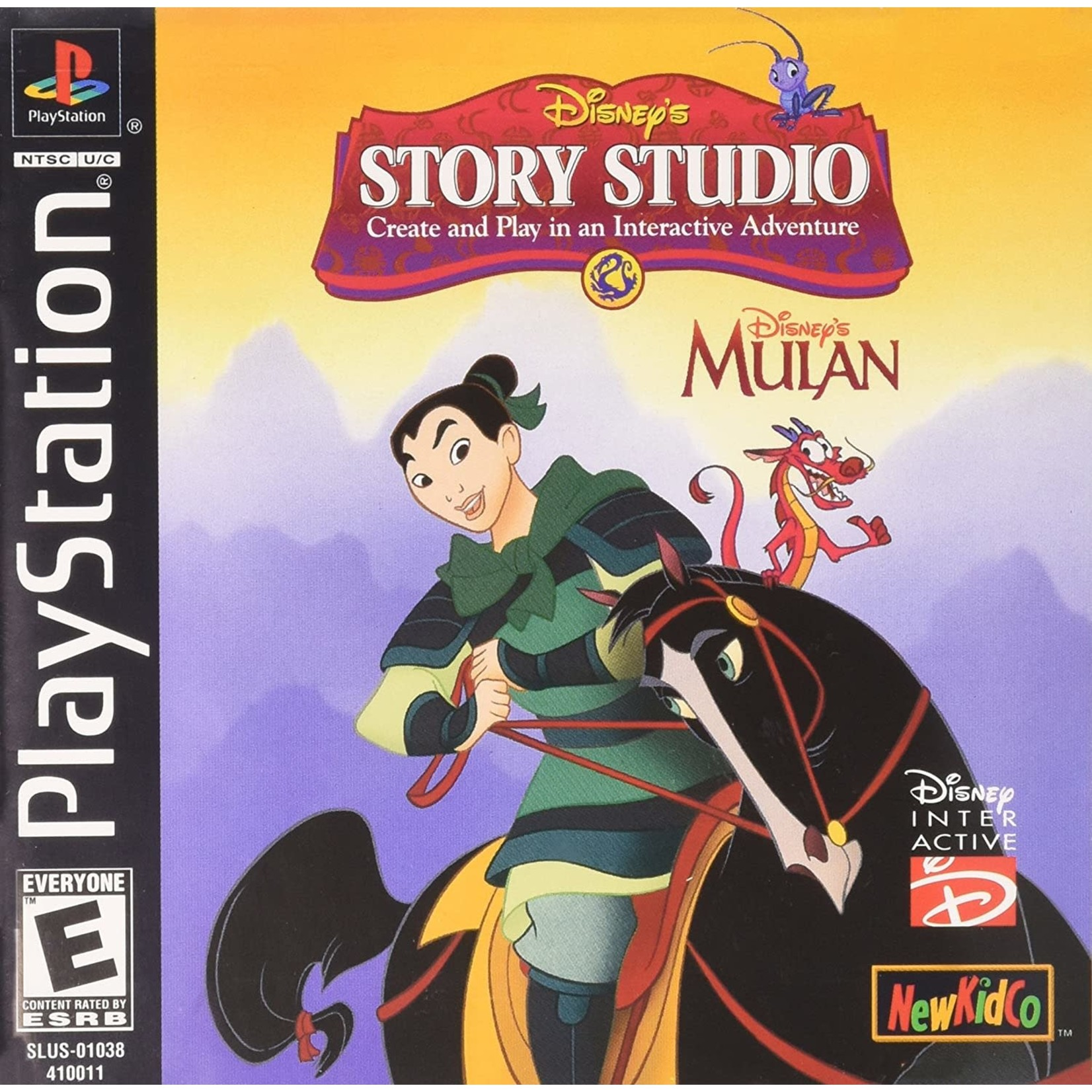 PS1U-Disney's Story Studio Mulan