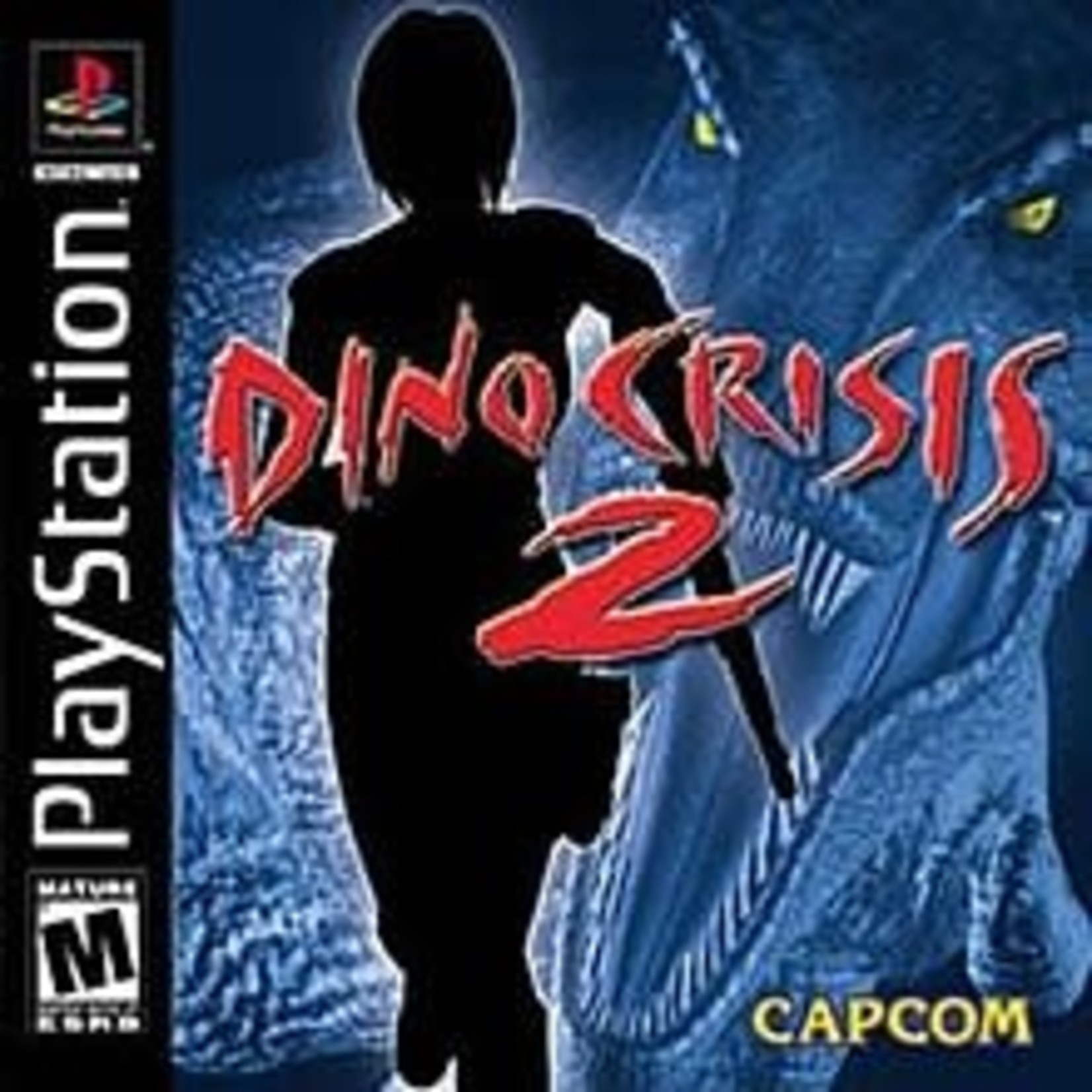 ps1u-Dino Crisis 2 (disc with booklet)