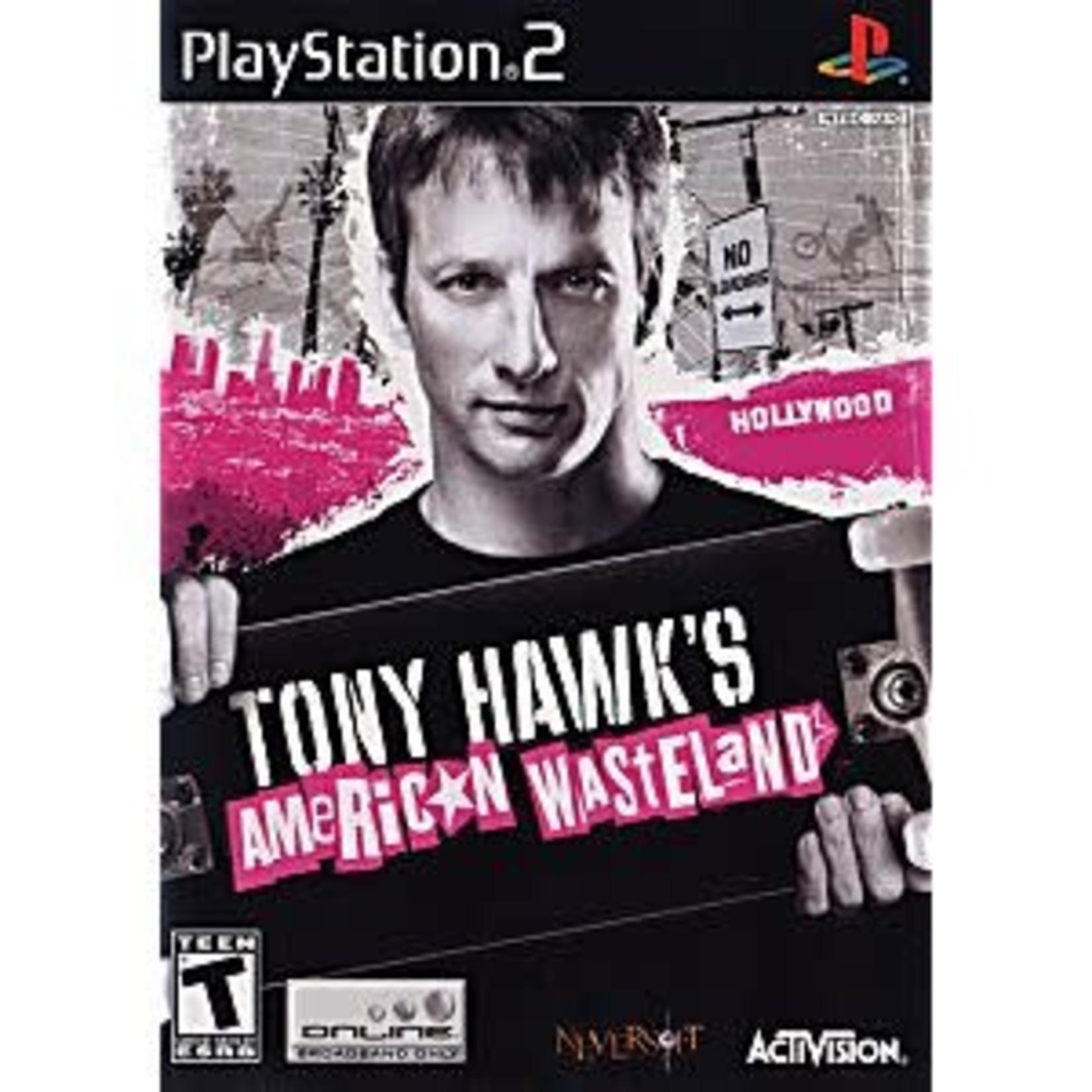 PS2U-TONY HAWKS AMERICAN WASTELAND