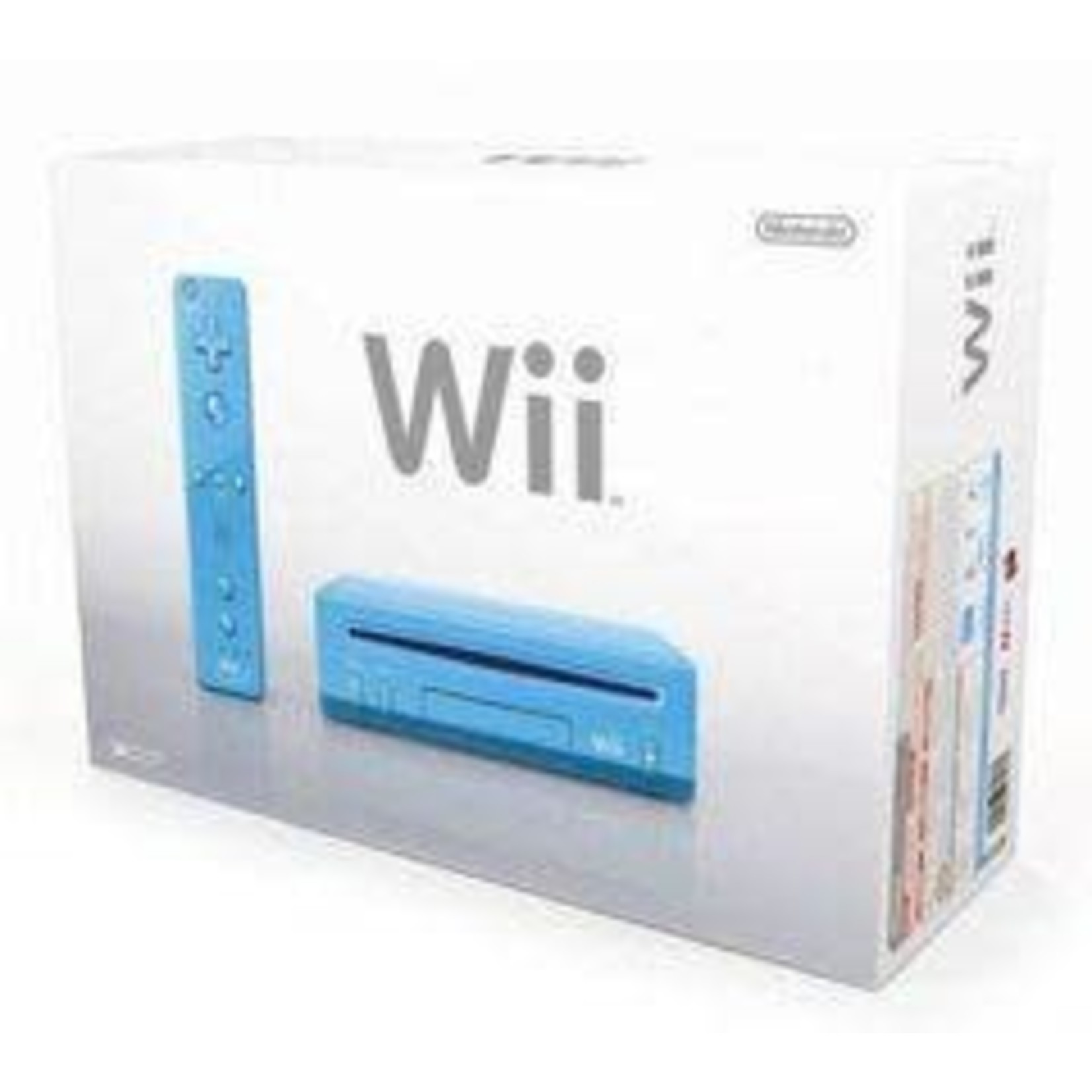 SYSTEM-Used Wii (Blue)(Complete in Box)