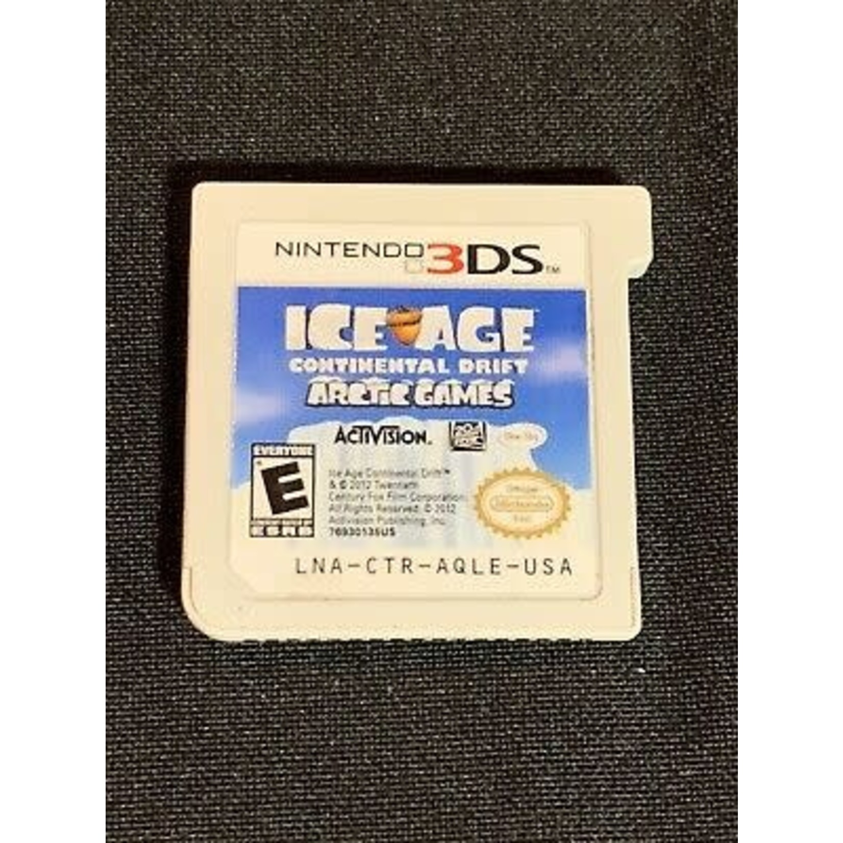 3DSU-Ice Age Arctic Games (chip only)