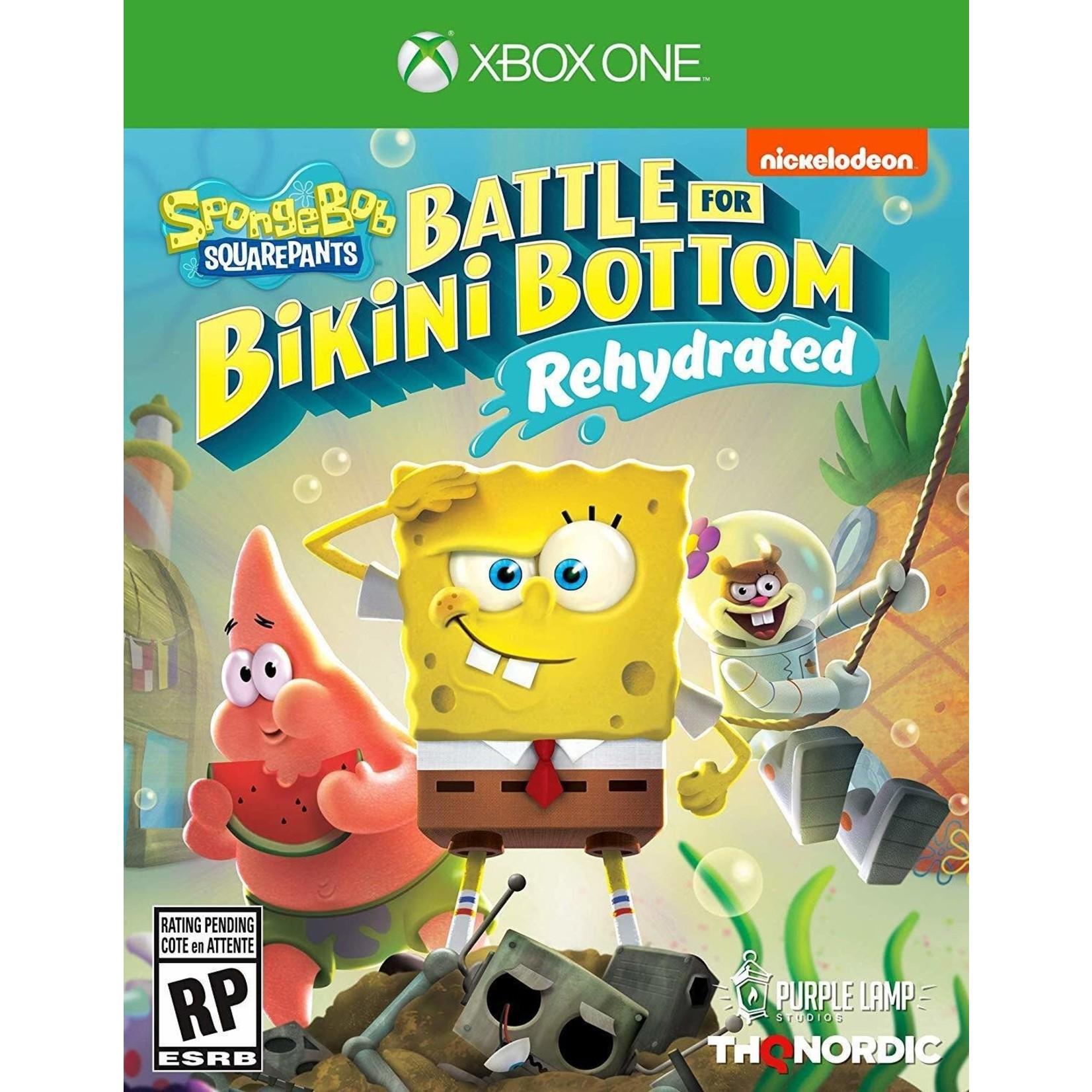xb1u-Spongebob Squarepants Battle For Bikini Bottom: Rehydrated