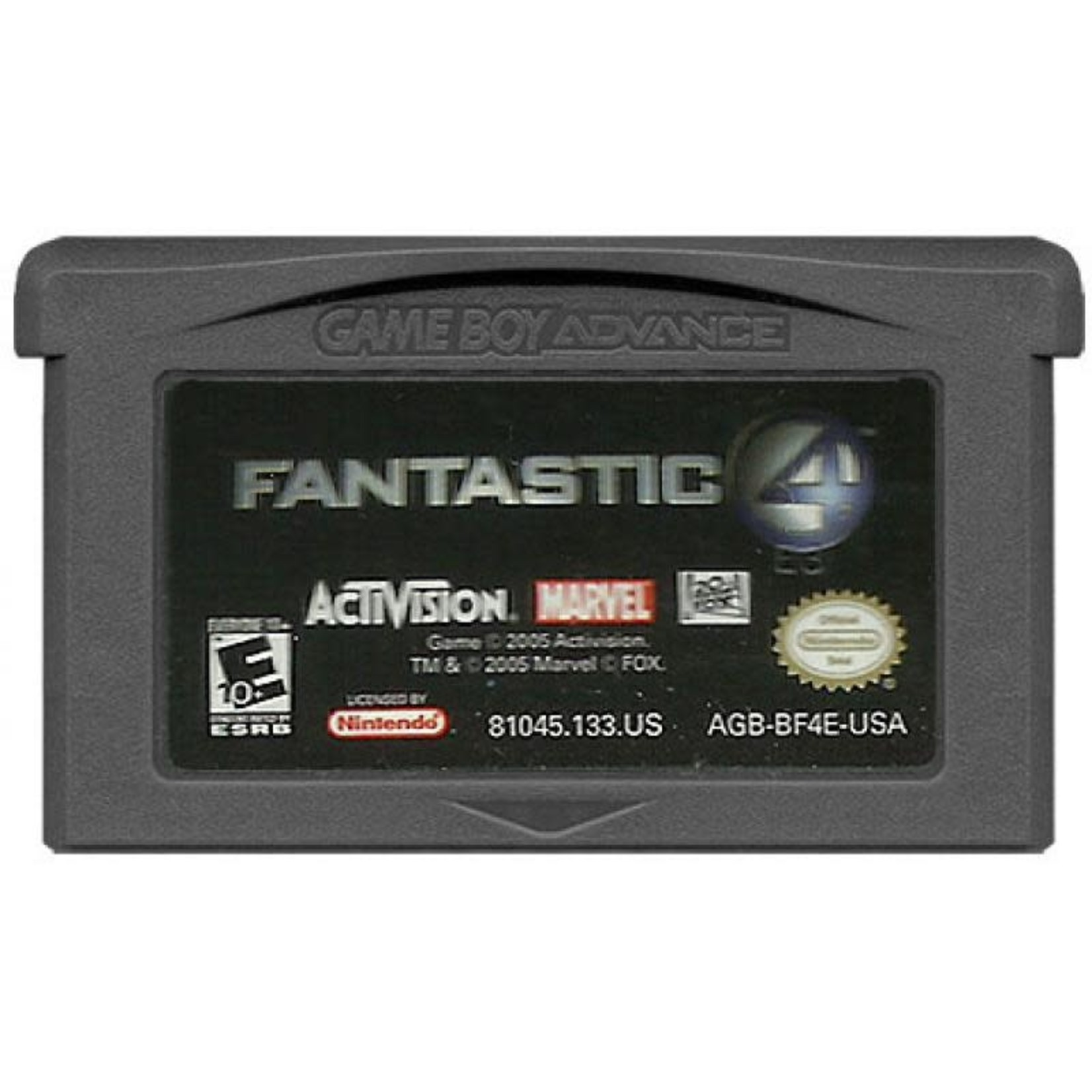 GBAU-Fantastic Four(Cartridge)